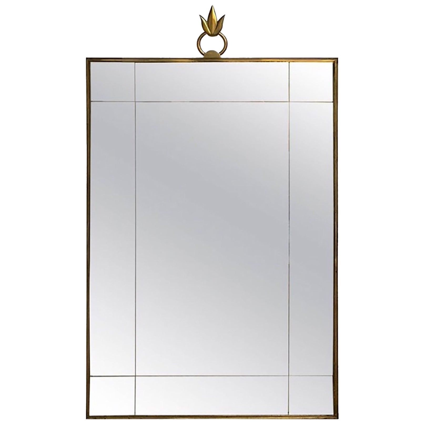 2019 Art Deco French Wall Mirror In The Style Of Andre Arbus Regarding Dandre Wall Mirrors (View 2 of 20)