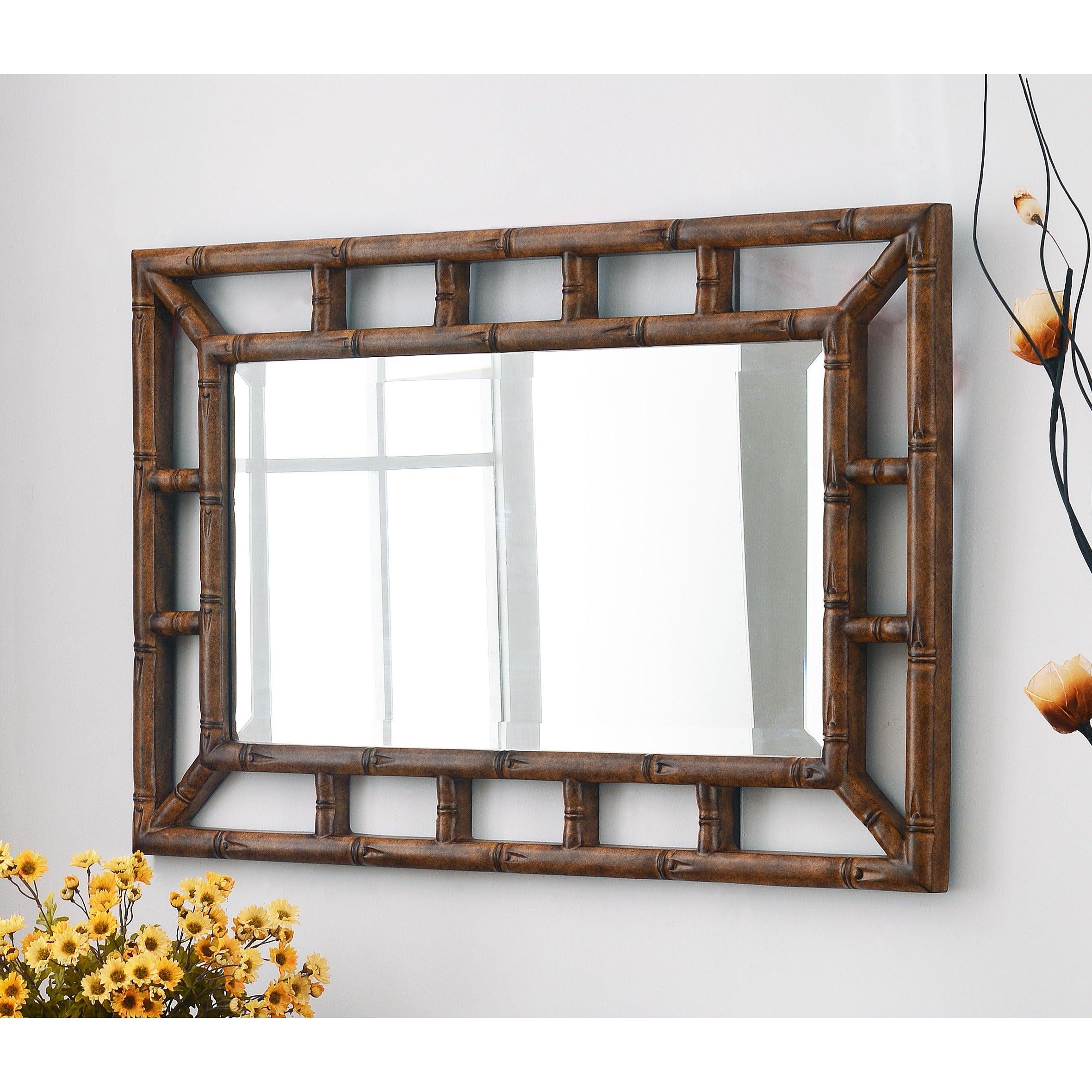 2019 Bamboo Wall Mirror Throughout Bamboo Wall Mirrors (View 3 of 20)