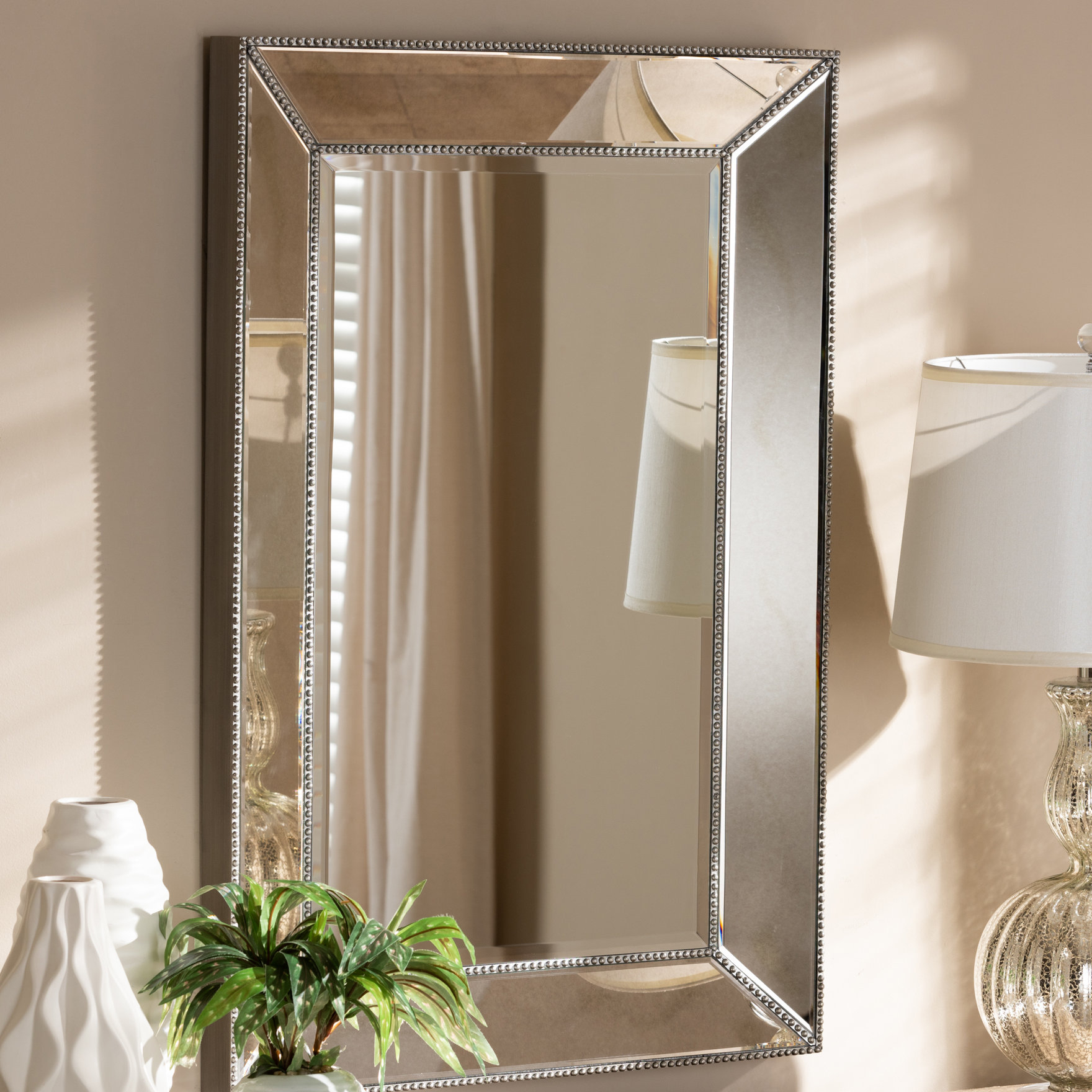 2019 Beveled Wall Mirrors Throughout Cady Beveled Wall Mirror (View 17 of 20)