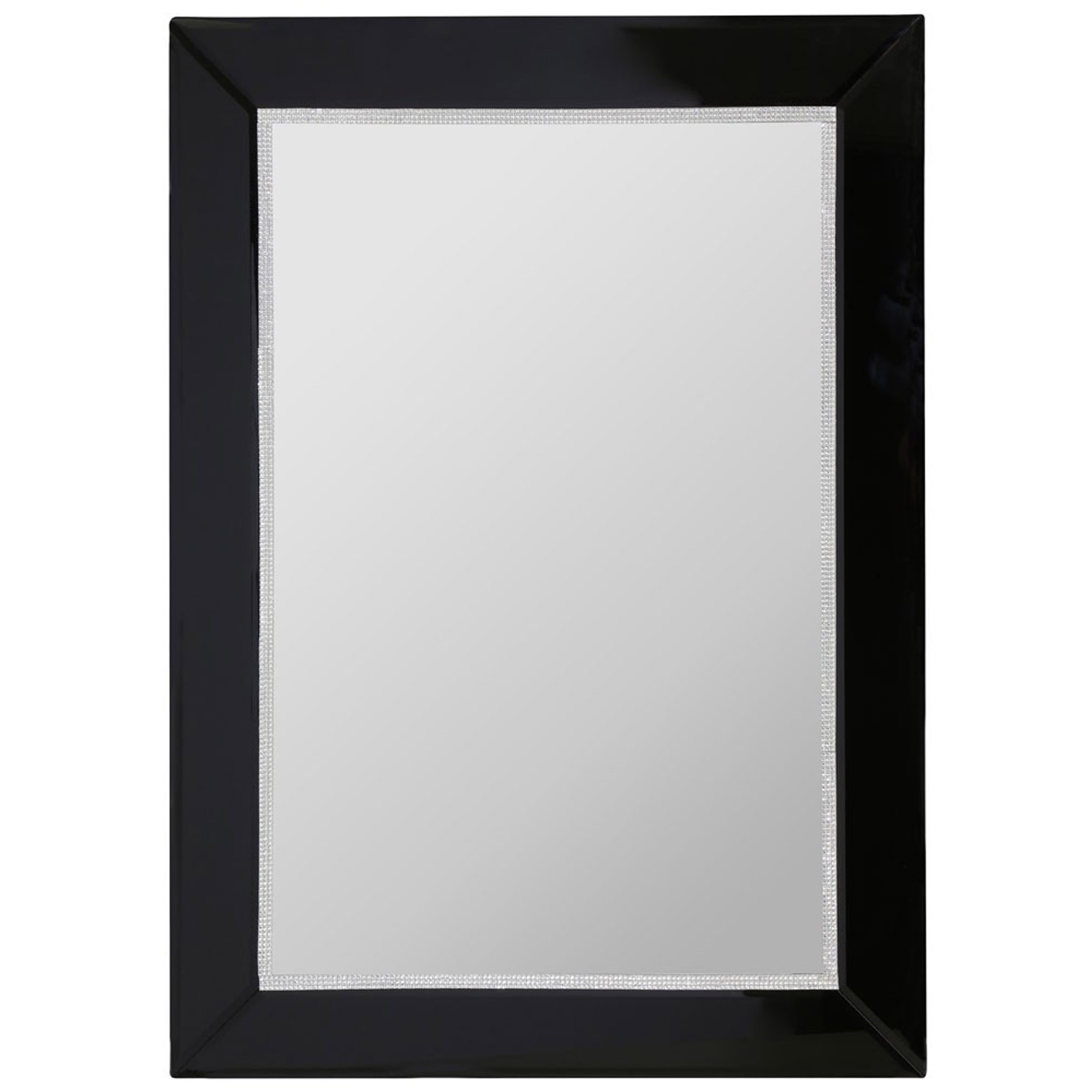 2019 Black Wall Mirror With Regard To Modern Black Wall Mirrors (View 1 of 20)