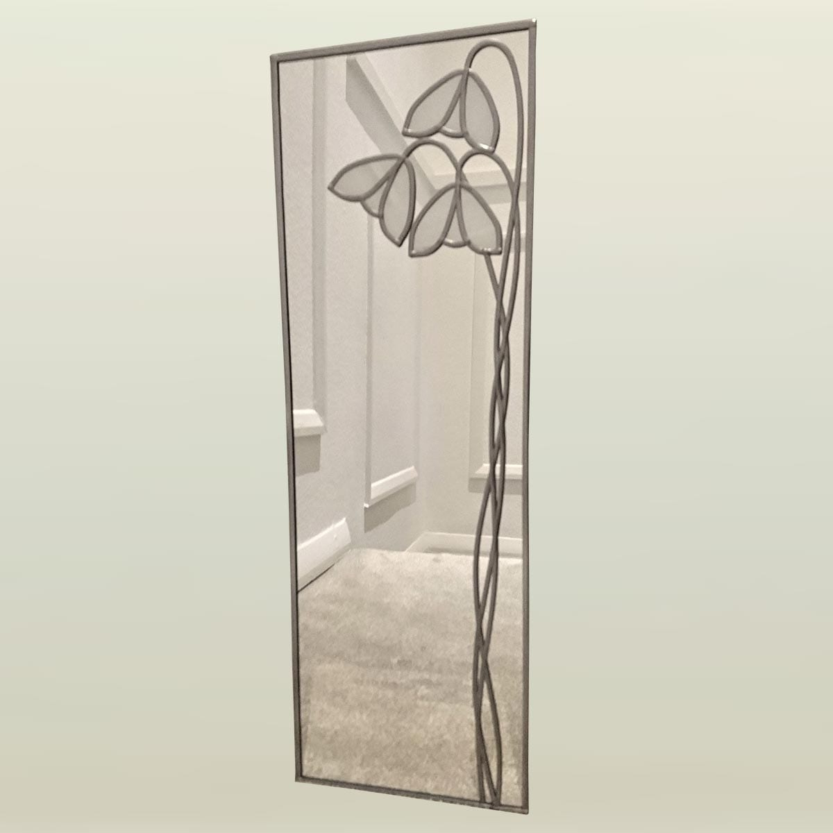 2019 Deco Wall Mirrors Inside Deco Snowdrop Wall Mirror 20X61Cm (8X24In) (View 2 of 20)