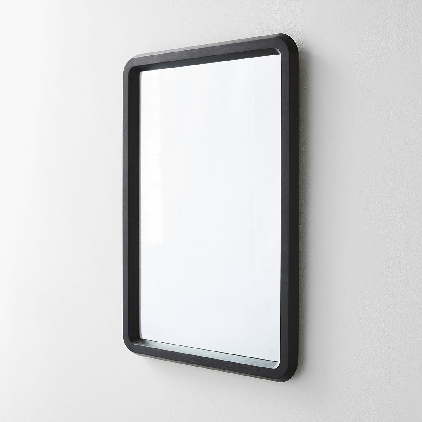 2019 Edgewood Made Large Wall Mirror Black With Regard To Large Plastic Wall Mirrors (View 18 of 20)