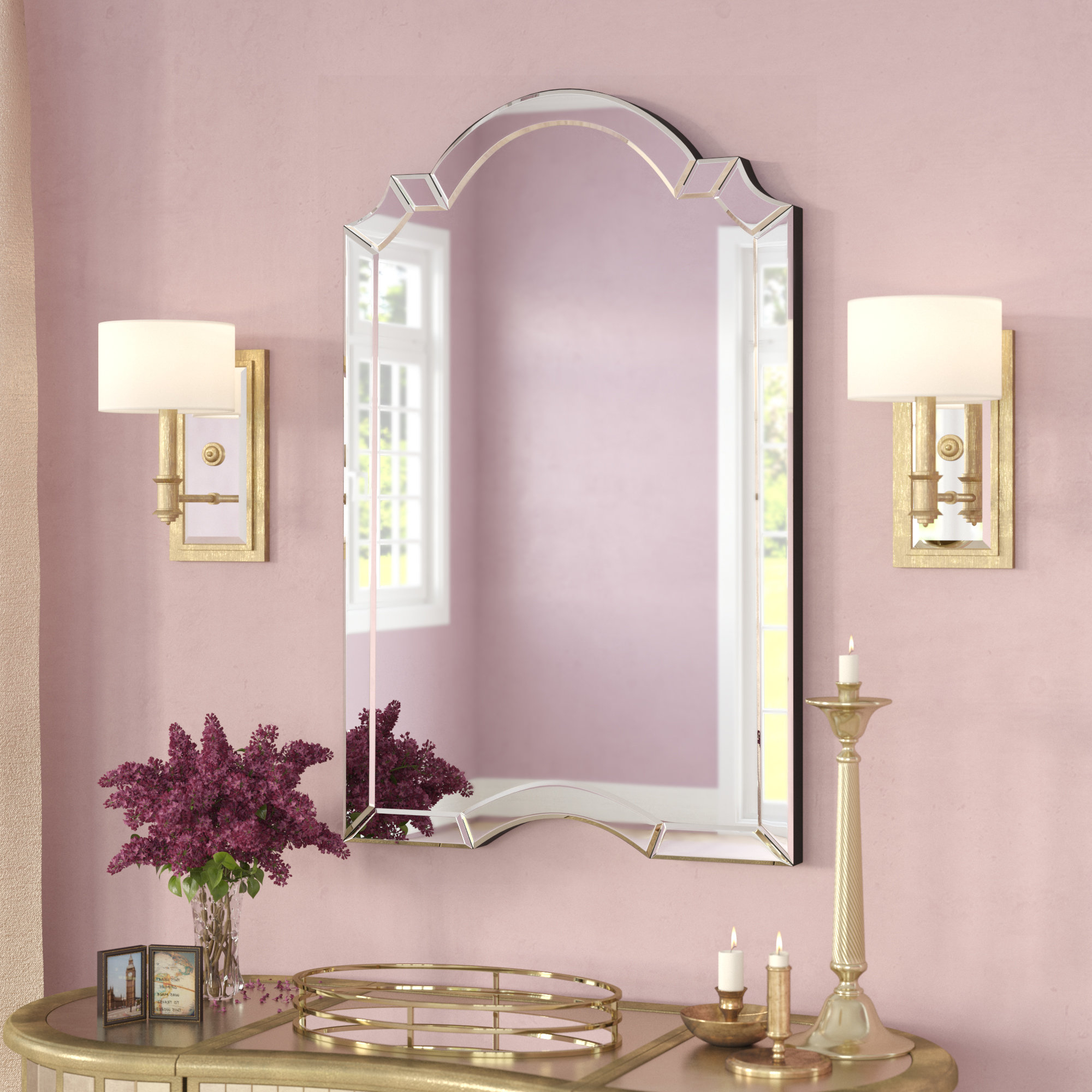 Featured Photo of Ekaterina Arch/crowned Top Wall Mirrors