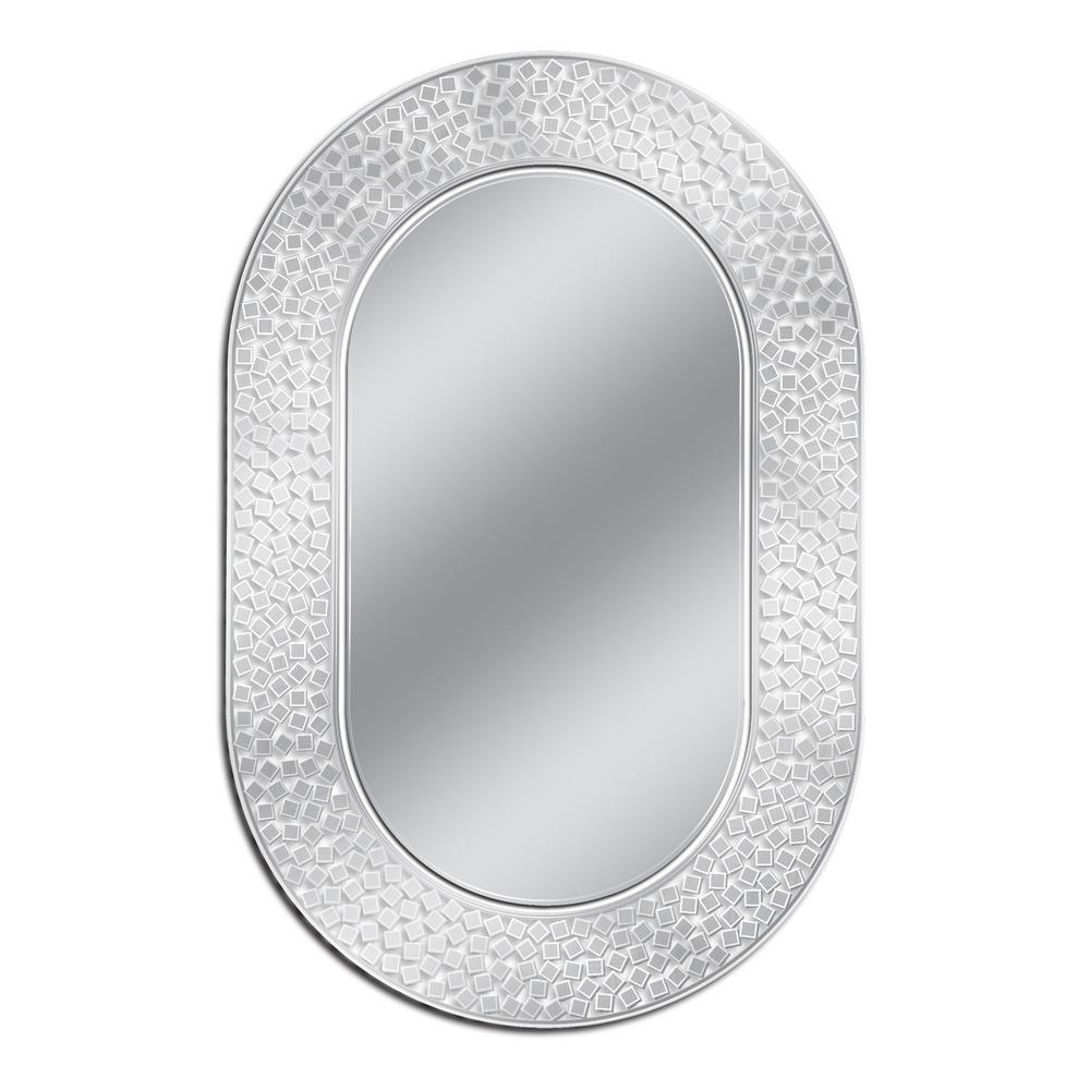 2019 Etched Wall Mirrors For Deco Mirror 23 In. W X 35 In (View 19 of 20)