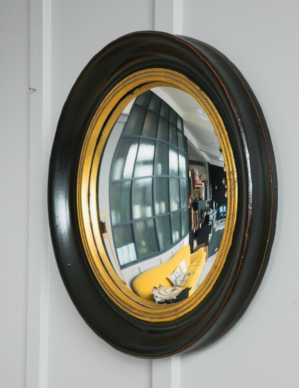 2019 Fish Eye Convex Mirror Intended For Round Convex Wall Mirrors (View 1 of 20)