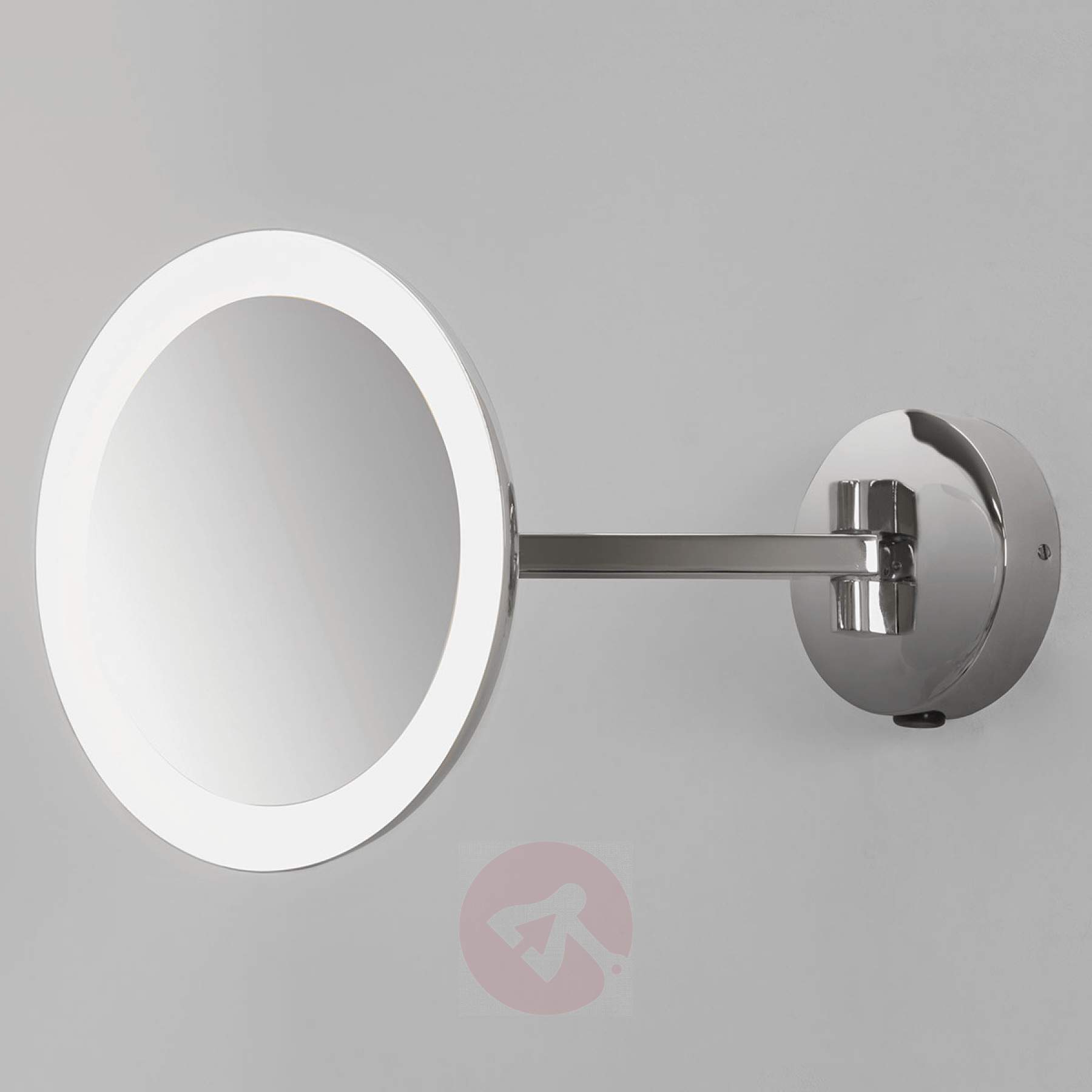 2019 Illuminated Wall Mirrors Regarding Illuminated Wall Mirror Mascali With Led (View 1 of 20)