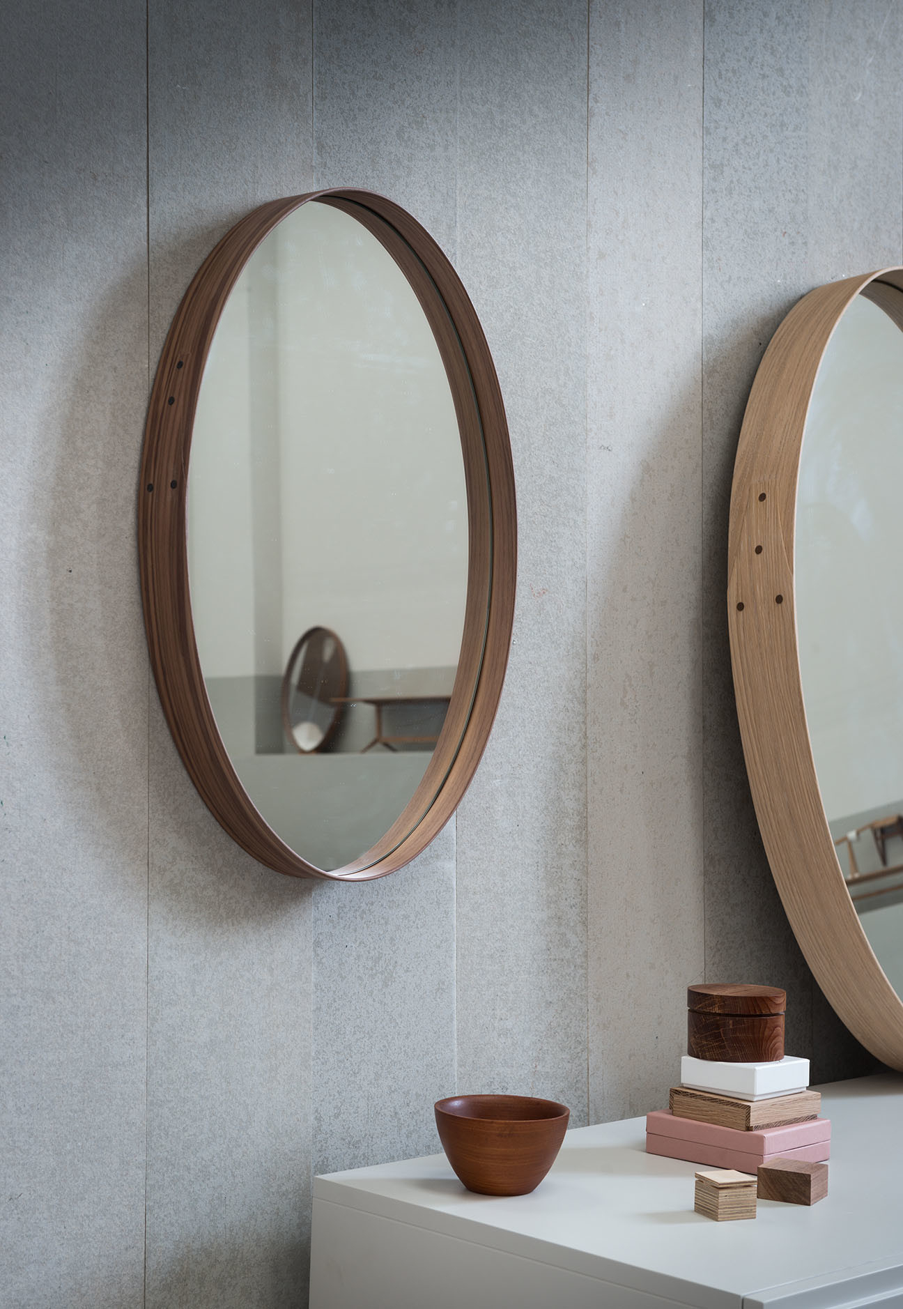 2019 Iona Wall Hung Mirror Small With Hang Wall Mirrors (Gallery 3 of 20)