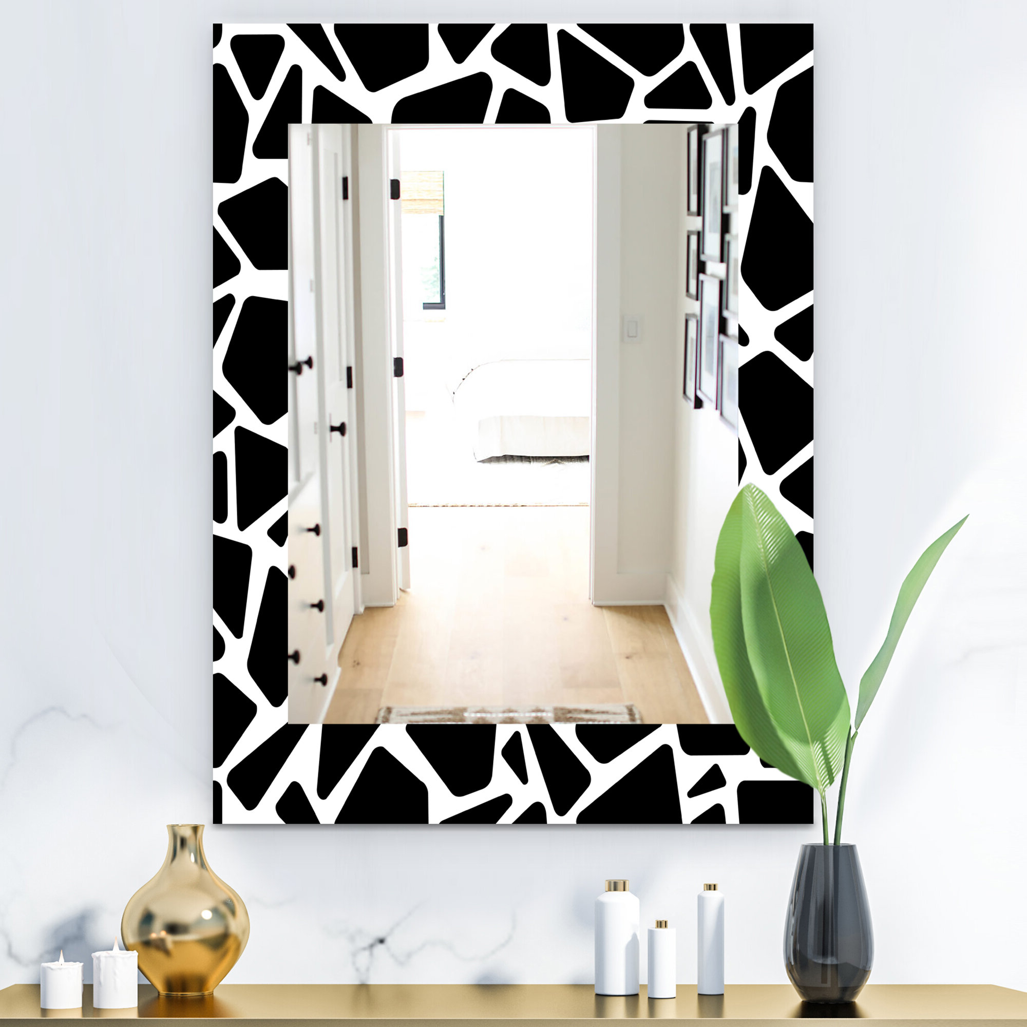 2019 Mid Century Modern And Contemporary Wall Mirror Regarding Industrial Modern & Contemporary Wall Mirrors (Gallery 11 of 20)