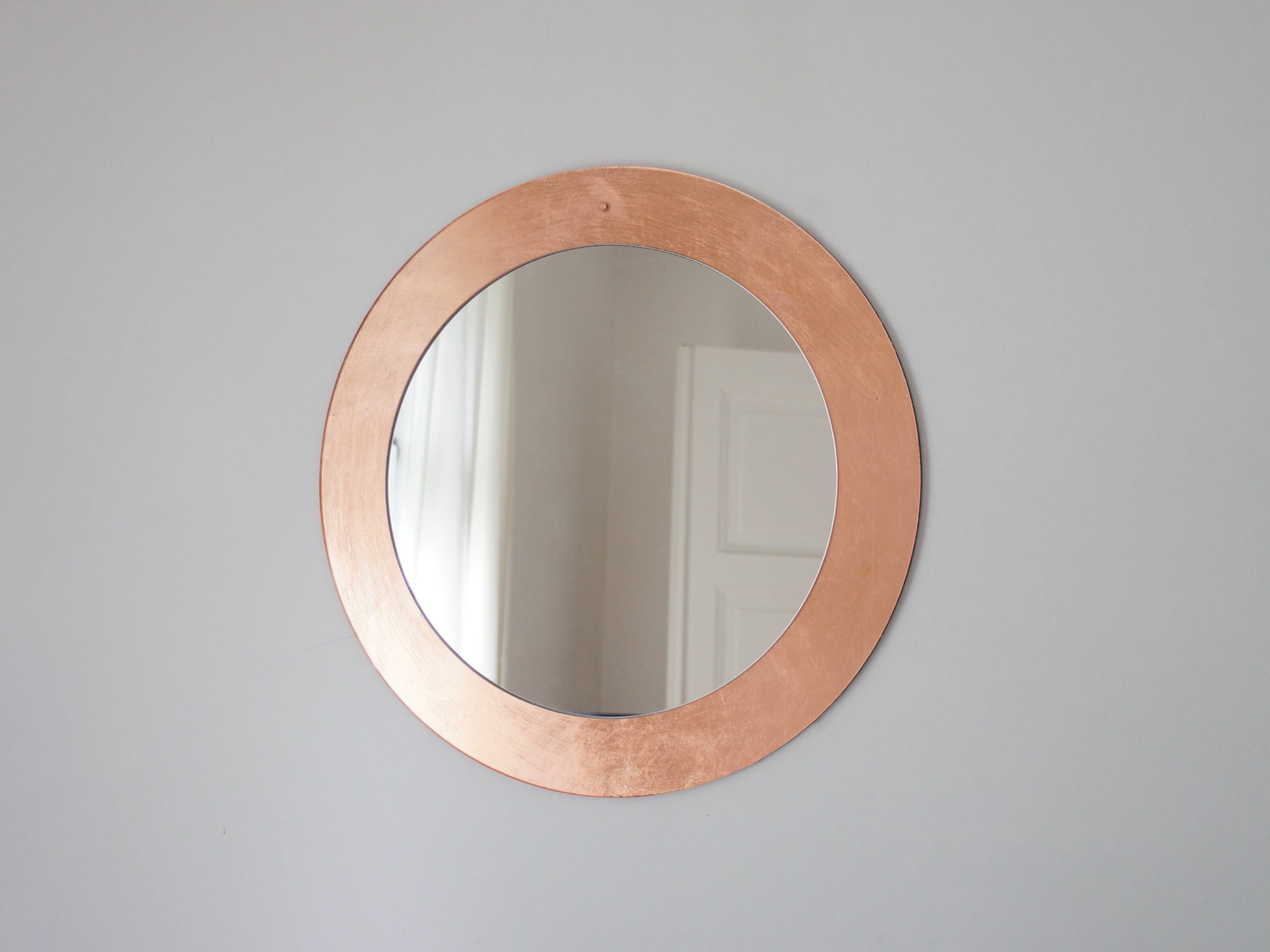 2019 Shop Chic Copper Wall Mirror On Crowdyhouse Within Copper Wall Mirrors (View 3 of 20)