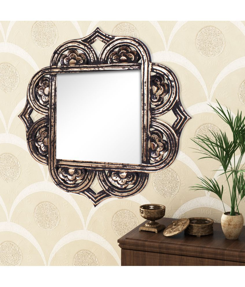 2019 Sparkle Wall Mirrors Regarding Home Sparkle Black Wall Mirror (Gallery 19 of 20)