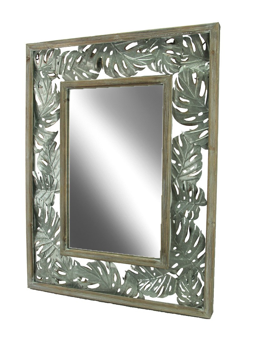 2019 Tropical Wall Mirrors Pertaining To Amazon: Elico Ltd (View 11 of 20)