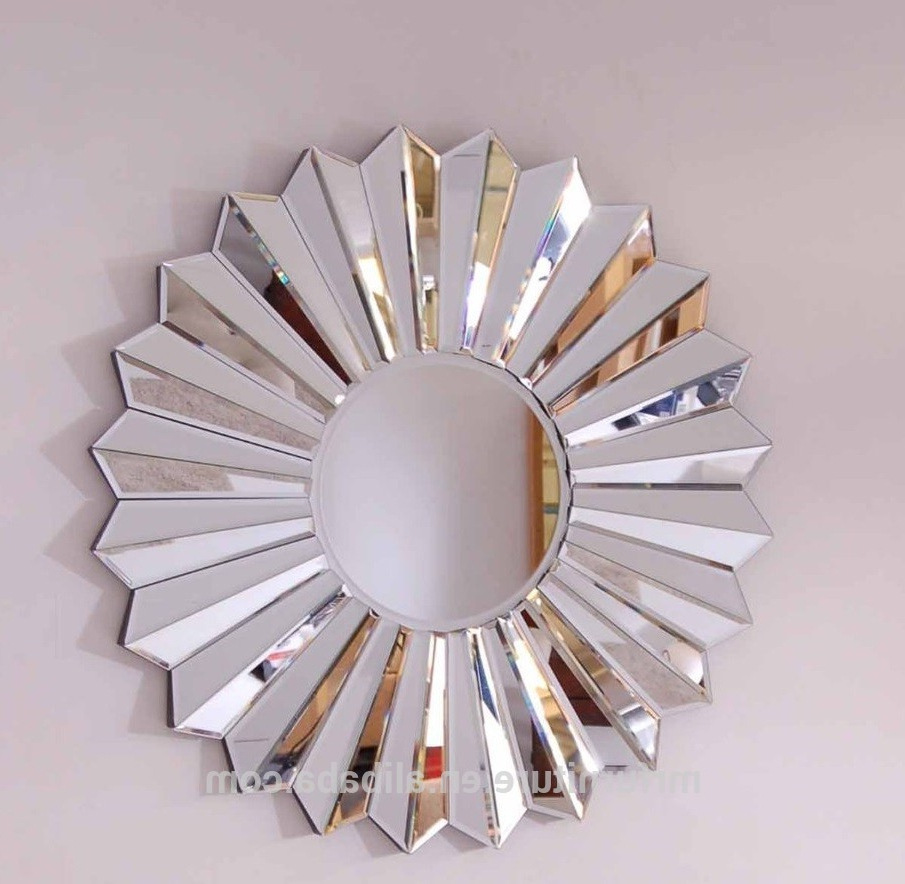2019 Ven Fan Shape Round Wall Mirror Art, View Ven Fan Wall Mirror Art, Mr(or Customer Brand) Product Details From Shenzhen Mr Furniture & Decor Co (View 16 of 20)