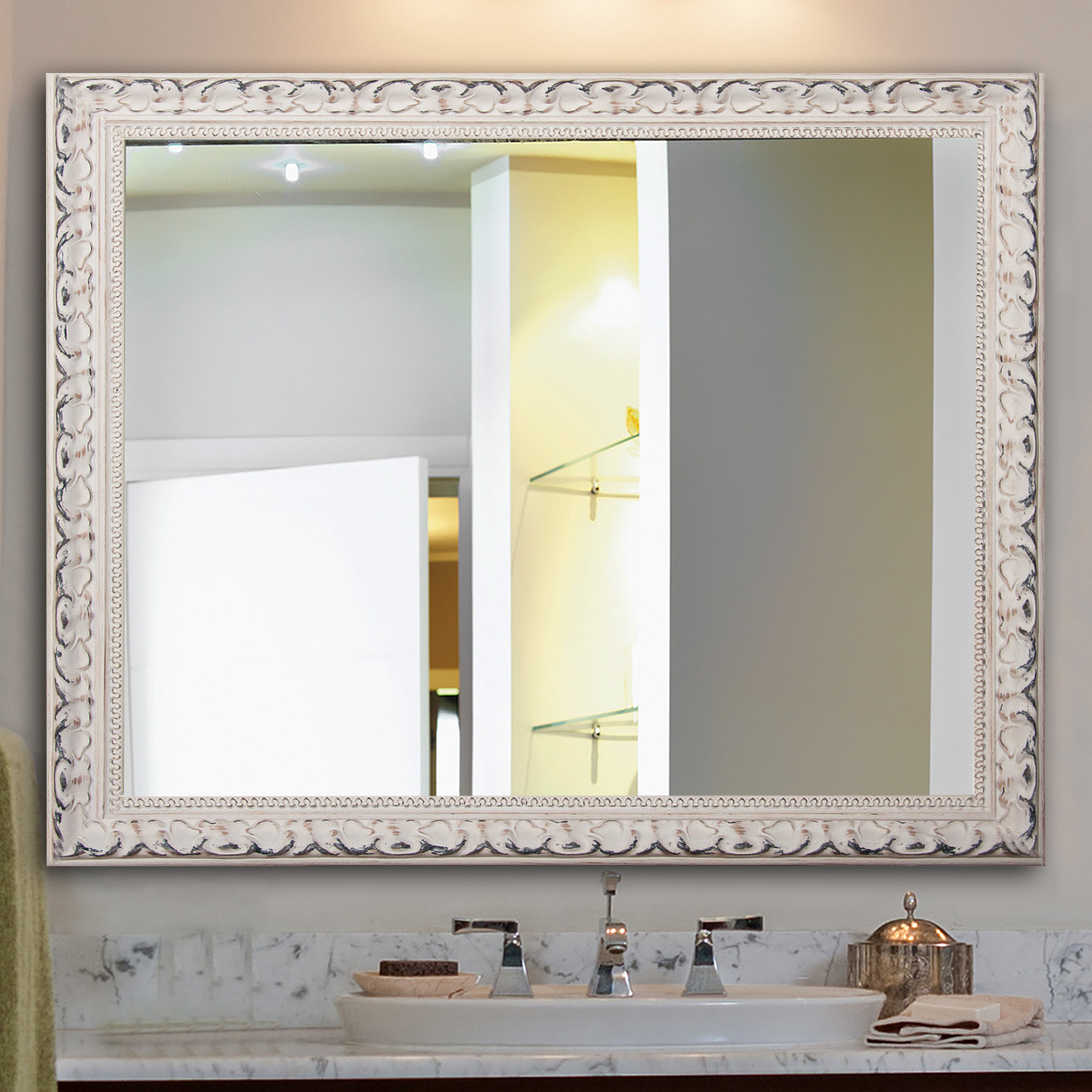 2019 Victorian Wall Mirrors With Rectangle French Victorian Wall Mirror (View 19 of 20)