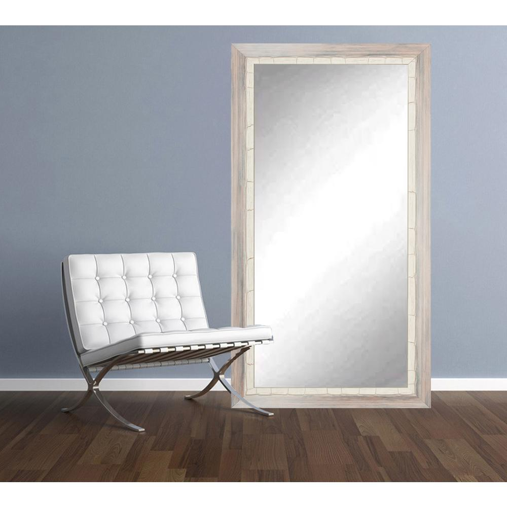2019 Weathered Beach Tall Floor Wall Mirror Throughout Tall Wall Mirrors (View 12 of 20)