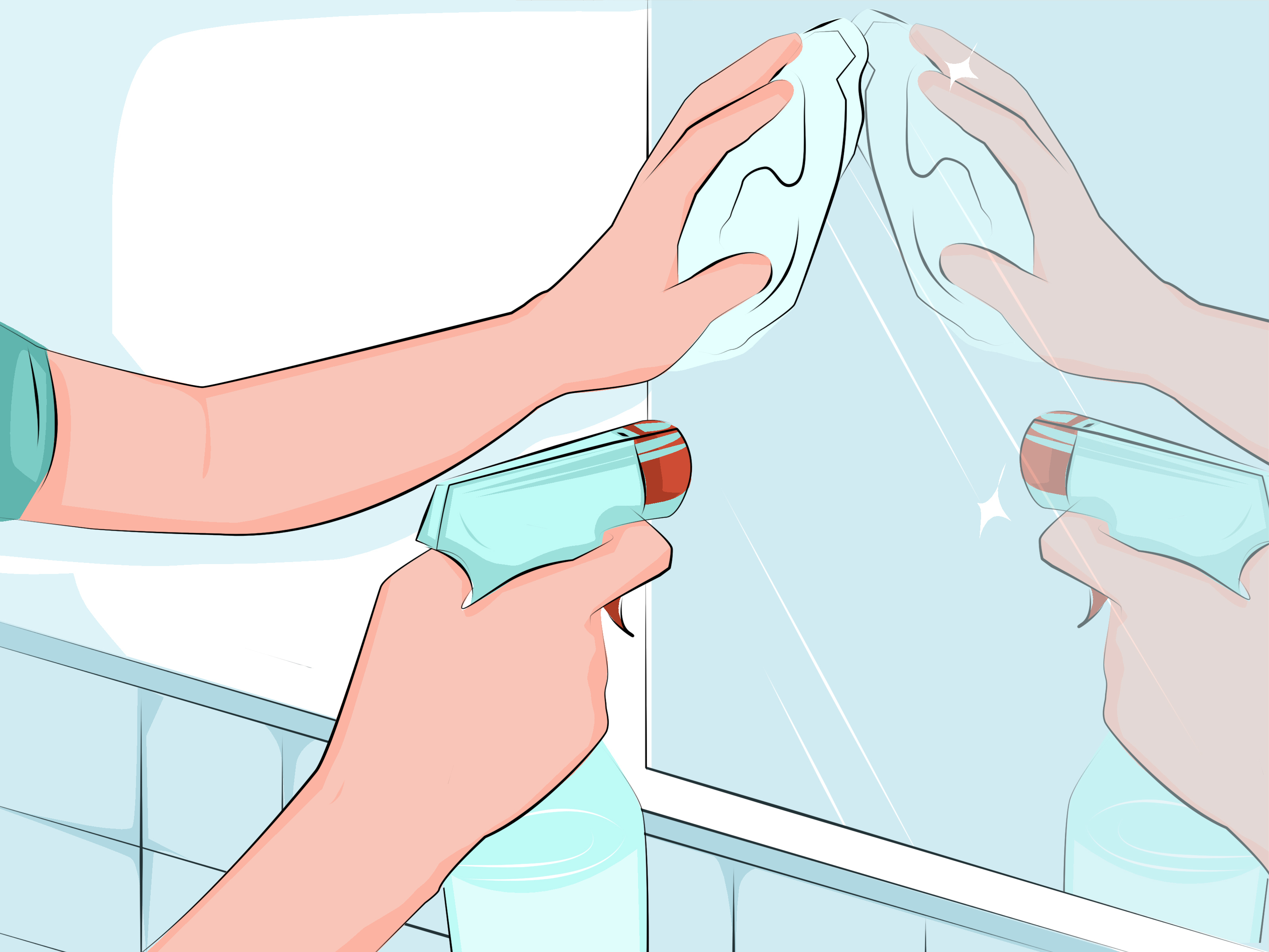 2020 3 Ways To Hang A Wall Mirror – Wikihow Throughout Hang Wall Mirrors (View 11 of 20)