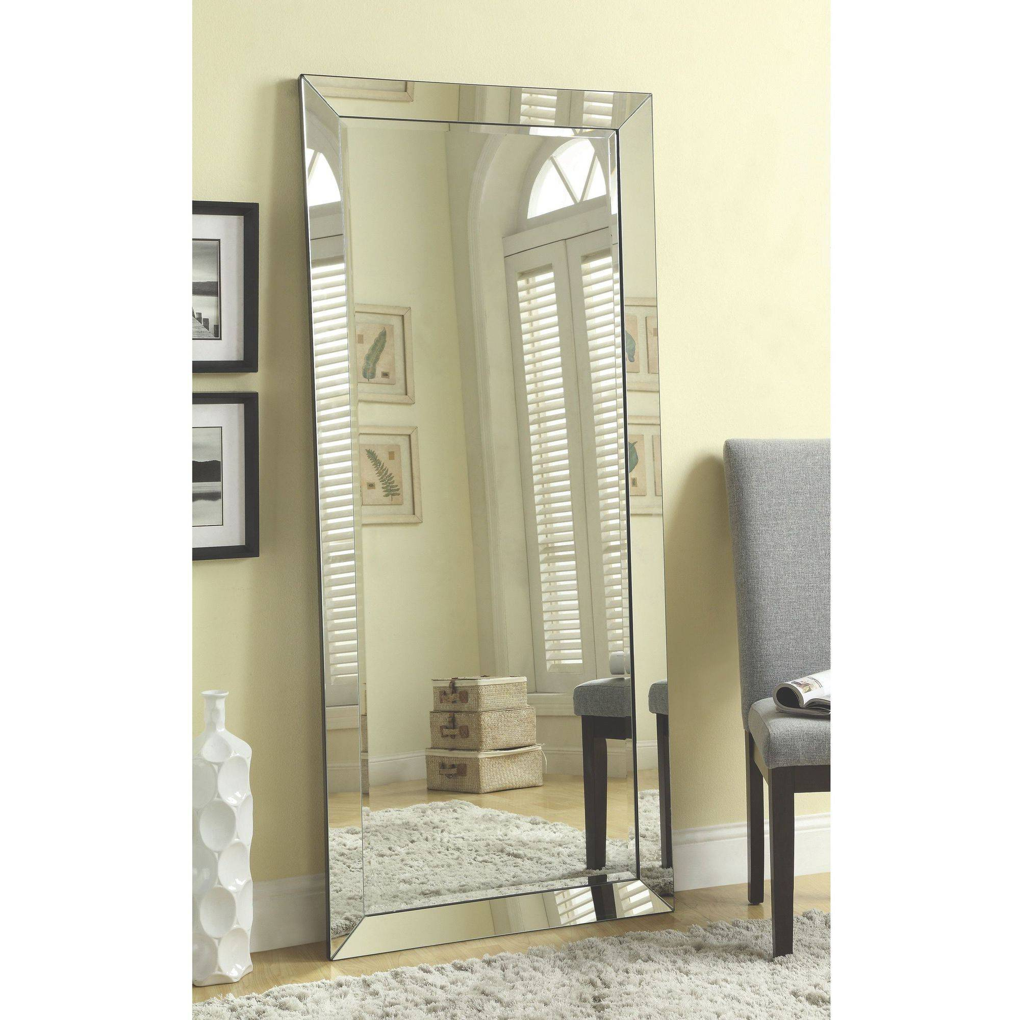 2020 34 Most Unbeatable Long Wall Mirrors Mirror No Frame Large Frameless With Regard To Full Length Frameless Wall Mirrors (View 6 of 20)