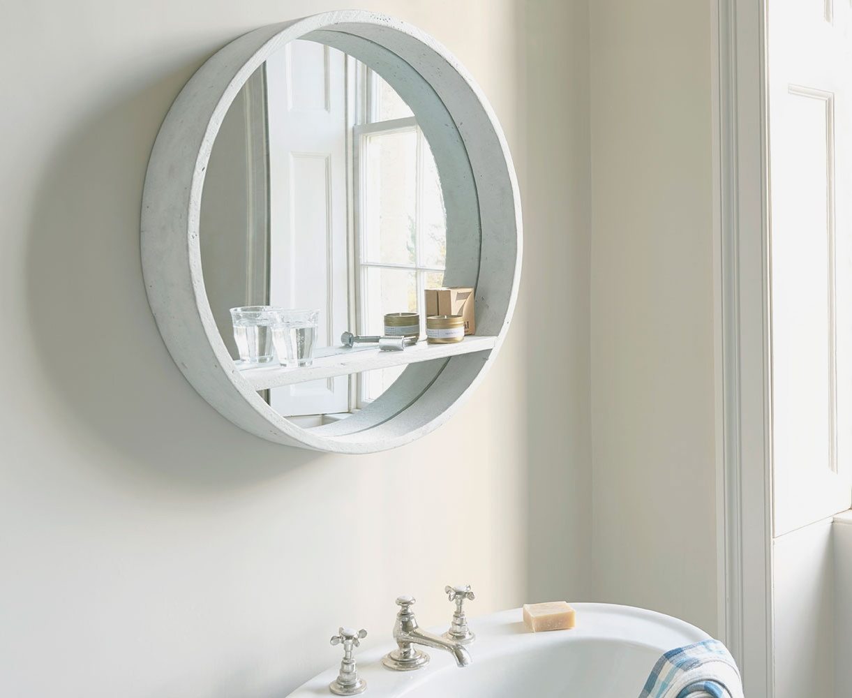 2020 35 Most Divine Big Wall Mirrors Chrome Bathroom Mirror Circle Light Inside Chrome Wall Mirrors (View 15 of 20)