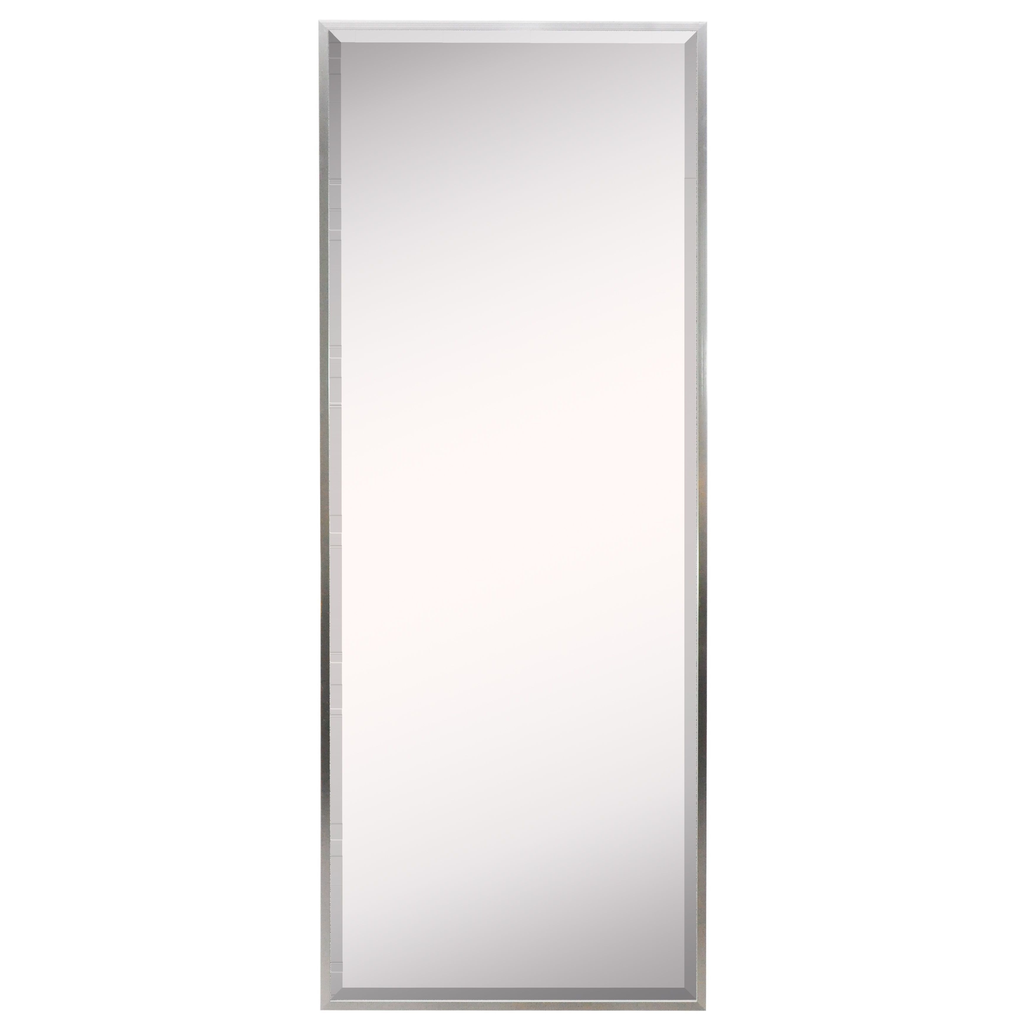 2020 American Made Accent Wall Mirrors With Regard To American Made Rayne Romeo Silver Sheen Wall Mirror (View 2 of 20)