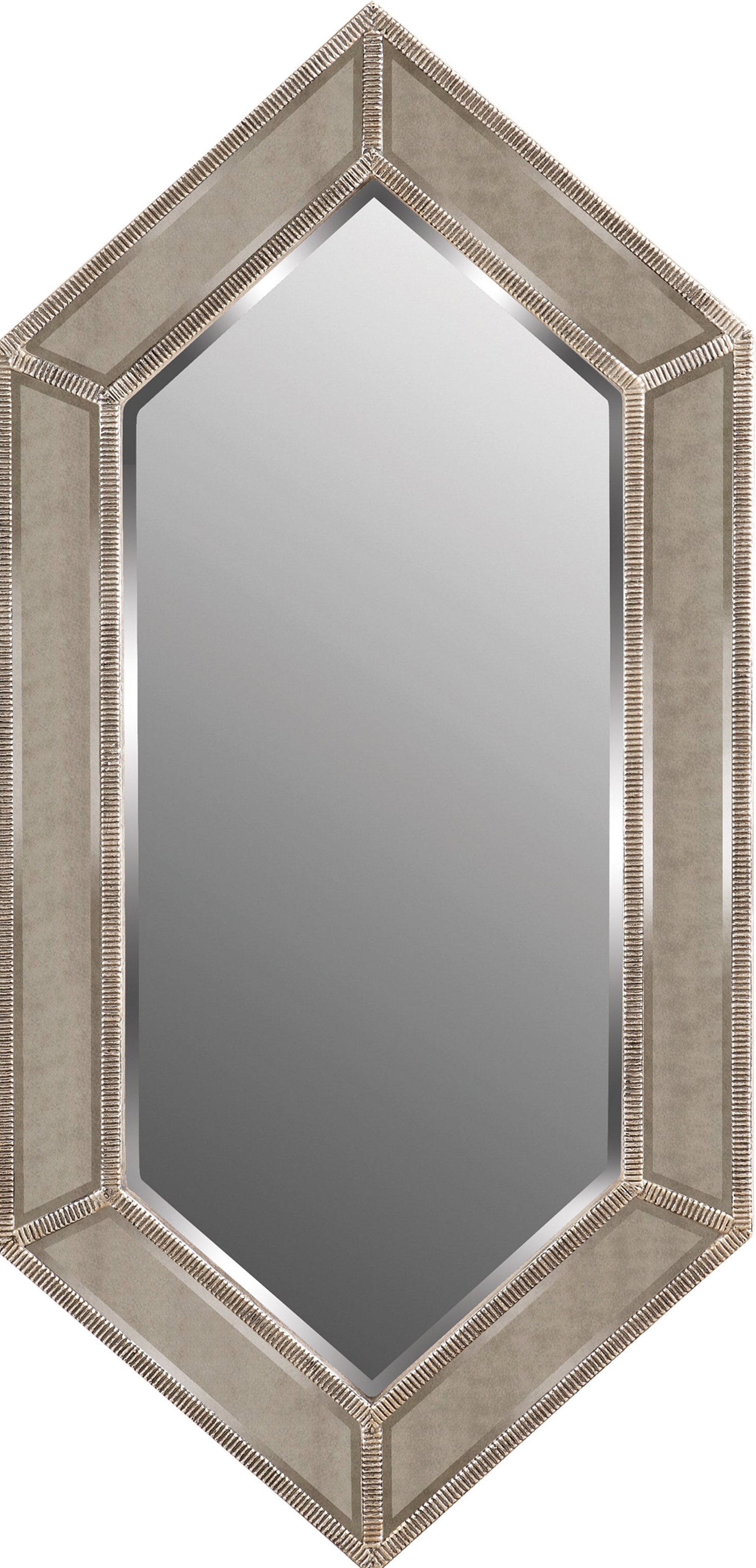 2020 Beaded Accent Wall Mirrors Pertaining To Beaded Milton Accent Wall Mirror (View 1 of 20)