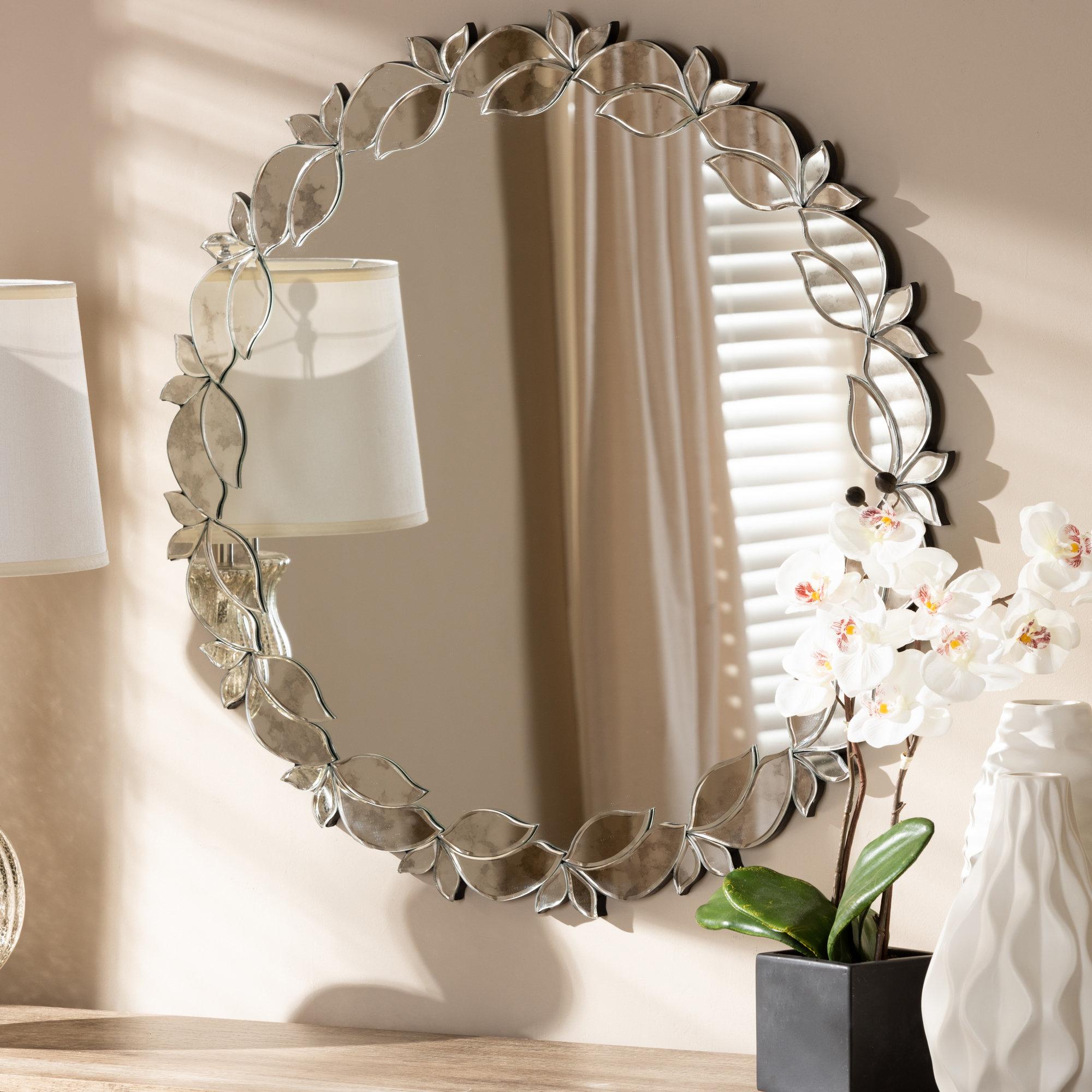 2020 Bem Decorative Wall Mirrors Regarding Isom Modern & Contemporary Wall Mirror (View 6 of 20)