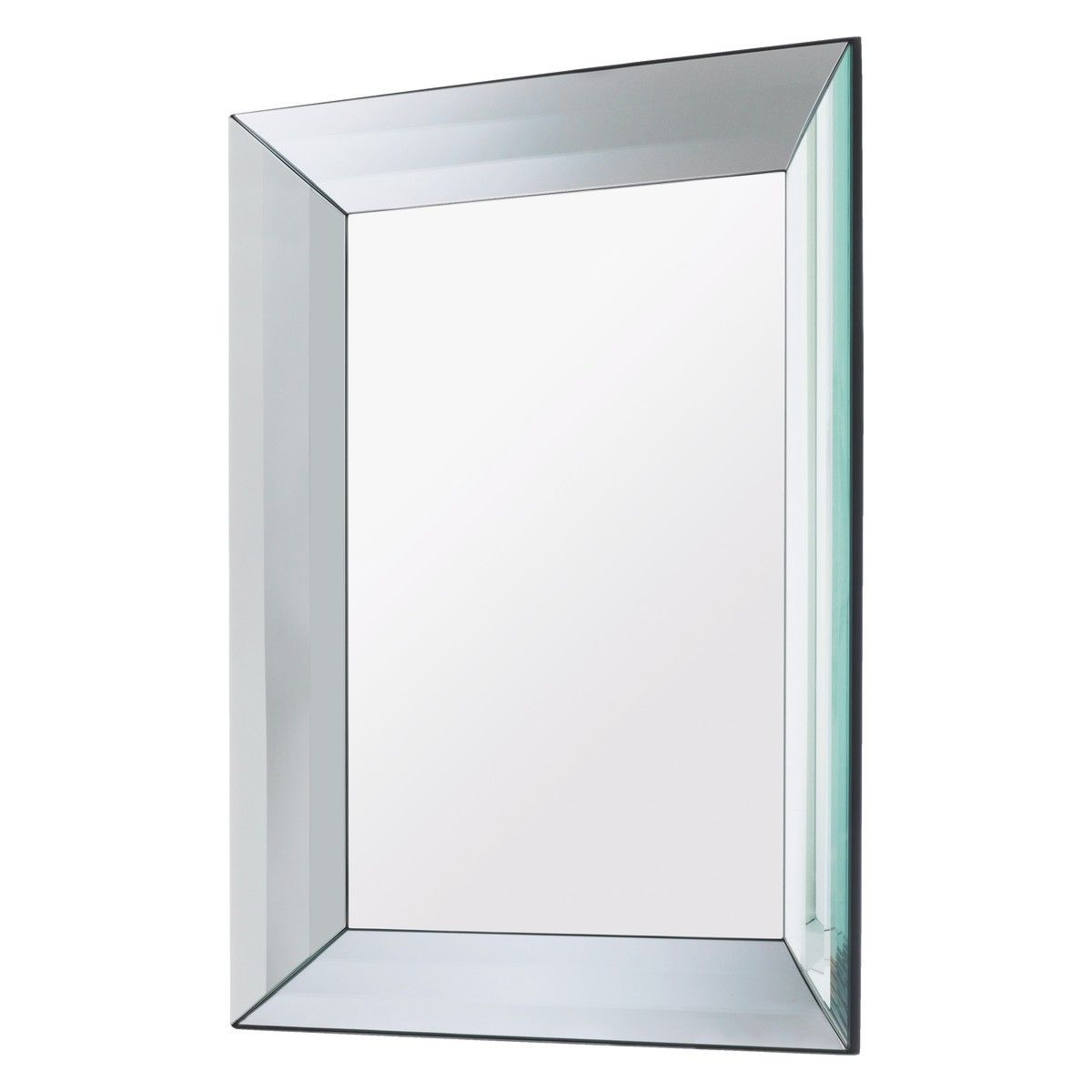 2020 Bevelled Wall Mirrors With Regard To Luella 60 X 80cm Rectangular Bevelled Wall Mirror (View 11 of 20)