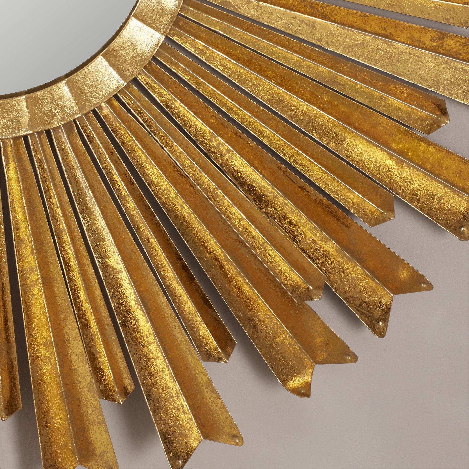2020 Birksgate Sunburst Accent Mirrors Throughout Willa Arlo Interiors Birksgate Sunburst Accent Mirror (View 10 of 20)