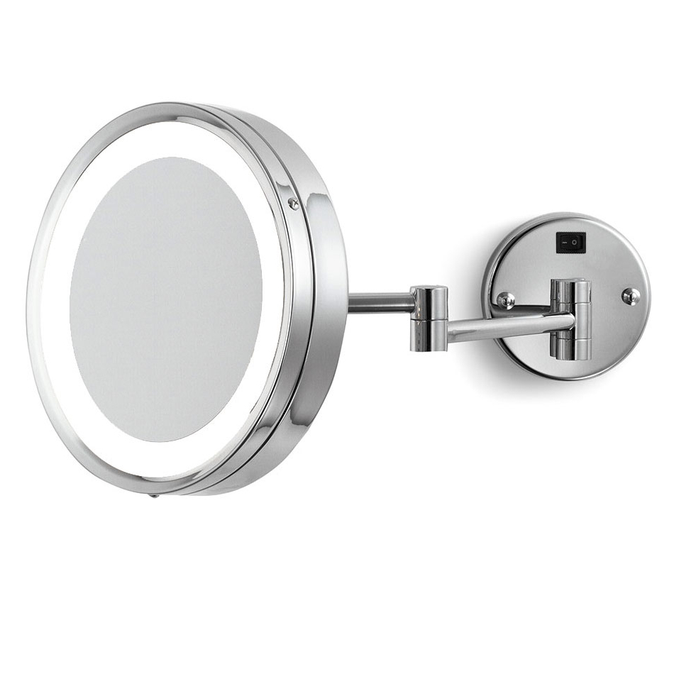 2020 Blush Wall Mounted Makeup Mirrorelectric Mirror (Gallery 19 of 20)