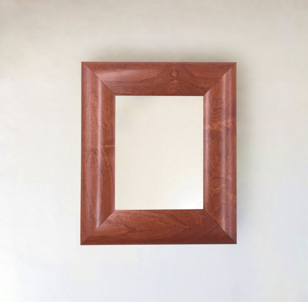 2020 Cherry Wall Mirrors With Cherry Wood Framed Wall Mirror 14x16 17x20 22x26 30x32 30x42 26x46 36x46 42x54 + More & Custom! (View 19 of 20)