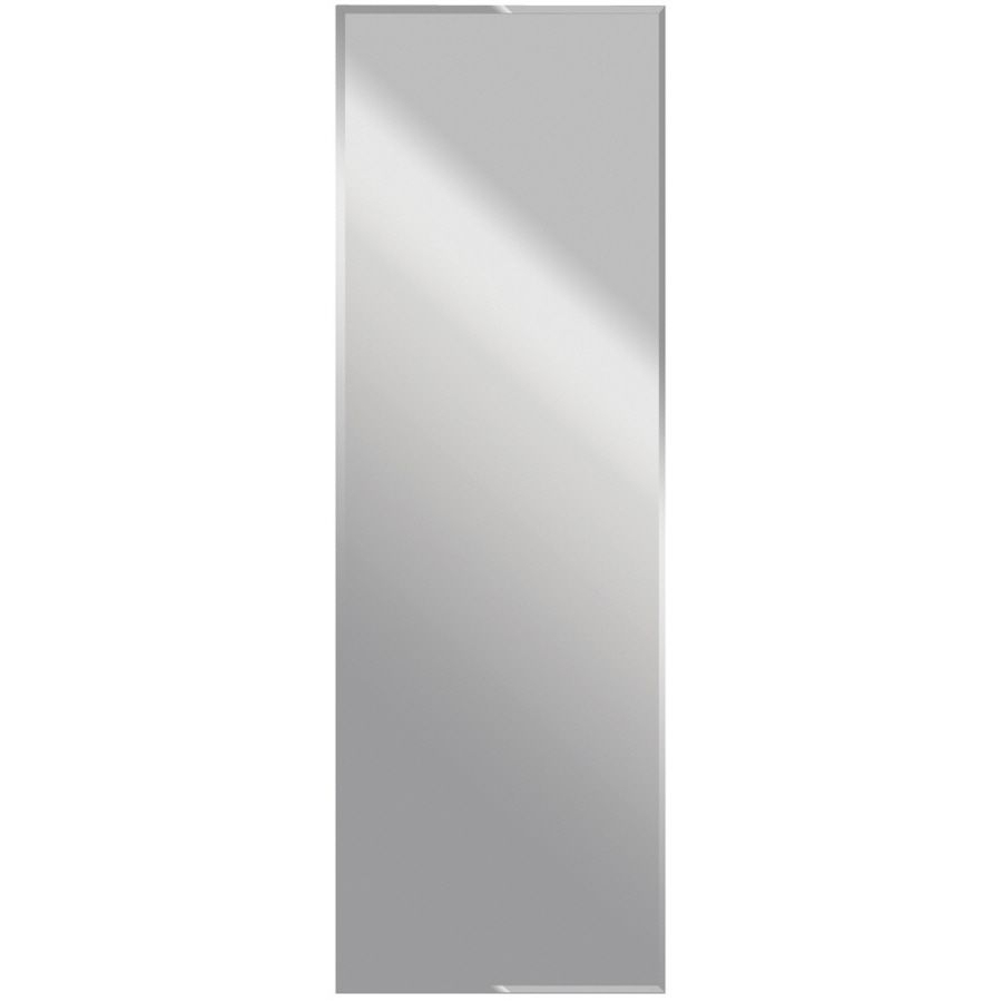 2020 Frameless Wall Mirrors Within Dreamwalls 22 In X 68 In Silver Beveled Rectangle Frameless (View 12 of 20)