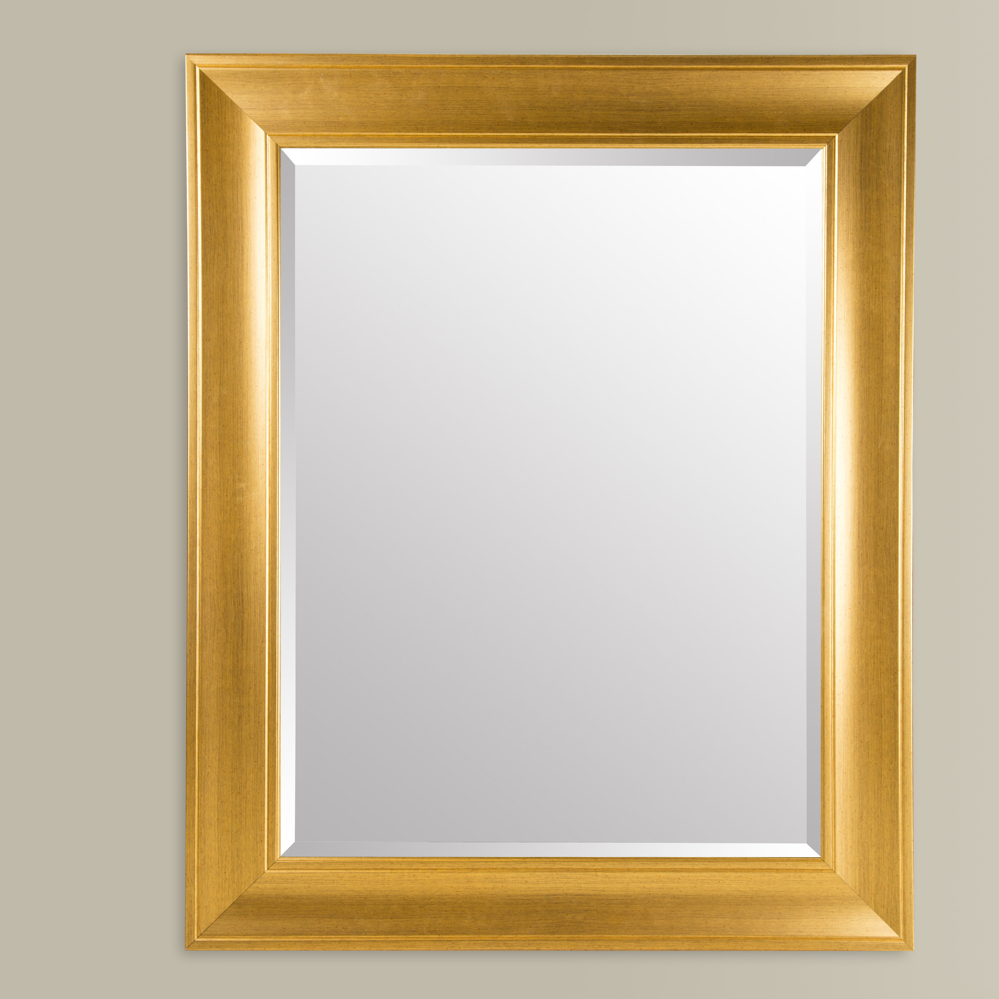 2020 Gallery Solutions Modern & Contemporary Beveled Wall Mirror For Modern & Contemporary Beveled Wall Mirrors (Gallery 6 of 20)