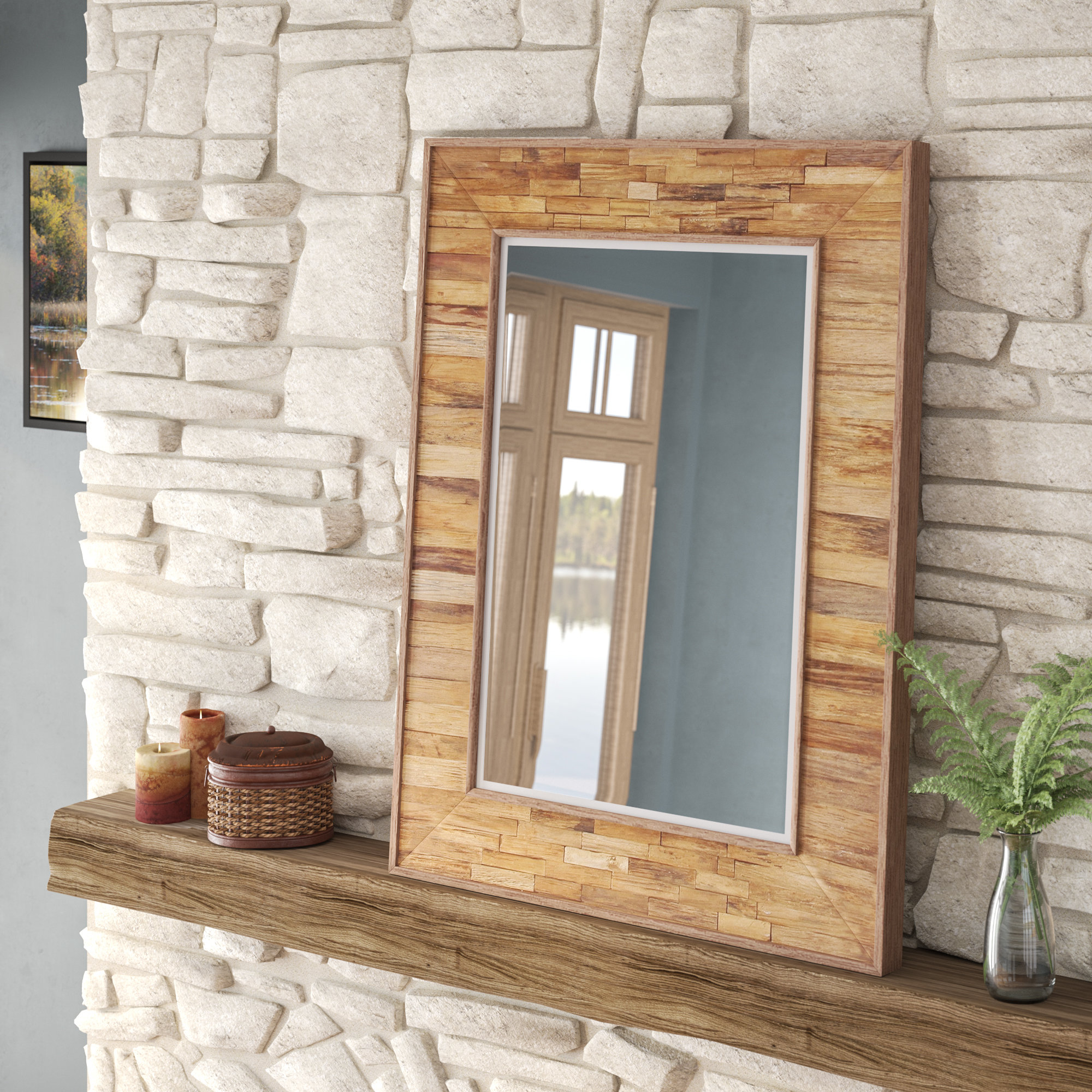 2020 Helgeson Organic En Accent Mirror Intended For Booth Reclaimed Wall Mirrors Accent (View 16 of 20)