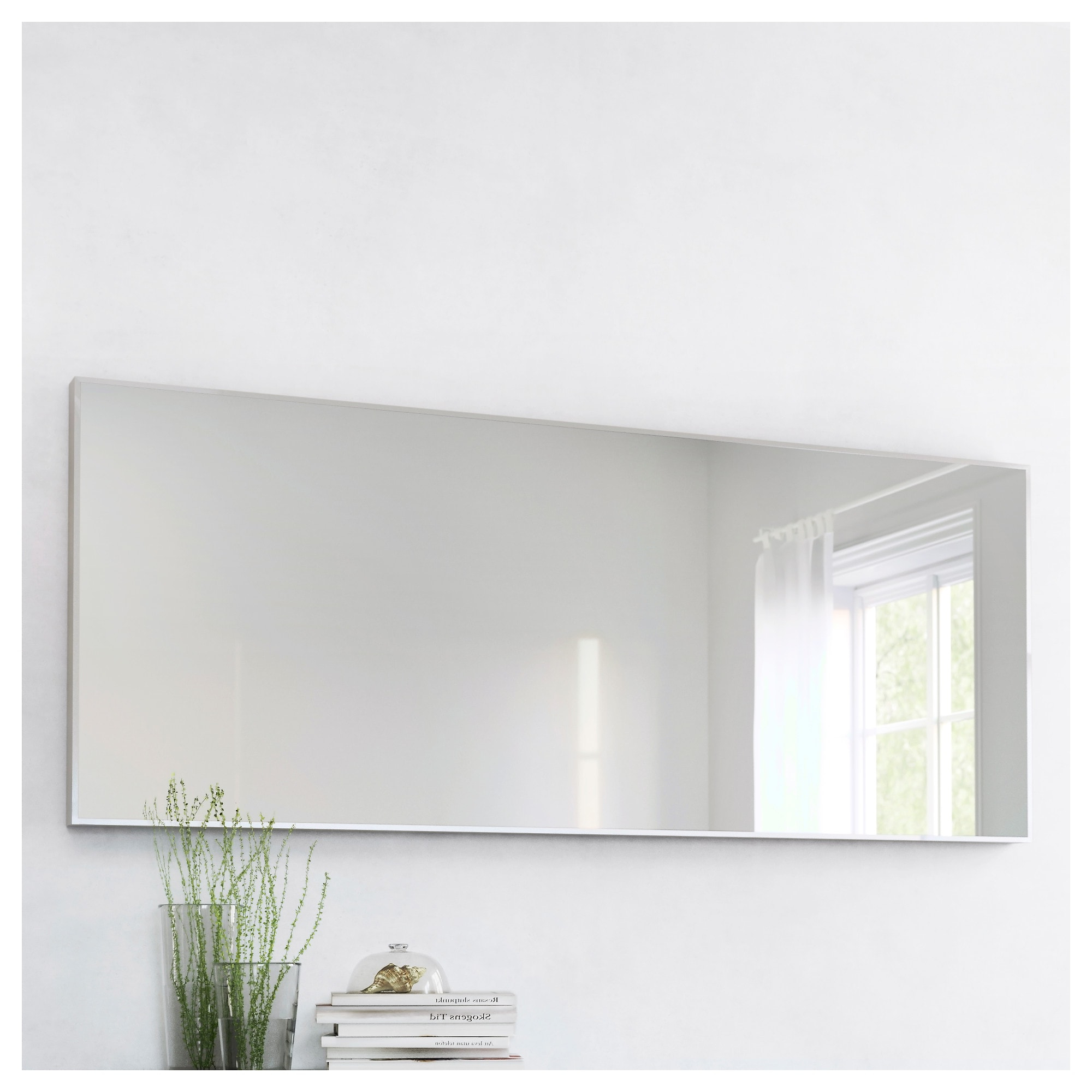 2020 Hovet – Mirror, Aluminum Regarding Big Wall Mirrors From Ikea (View 5 of 20)