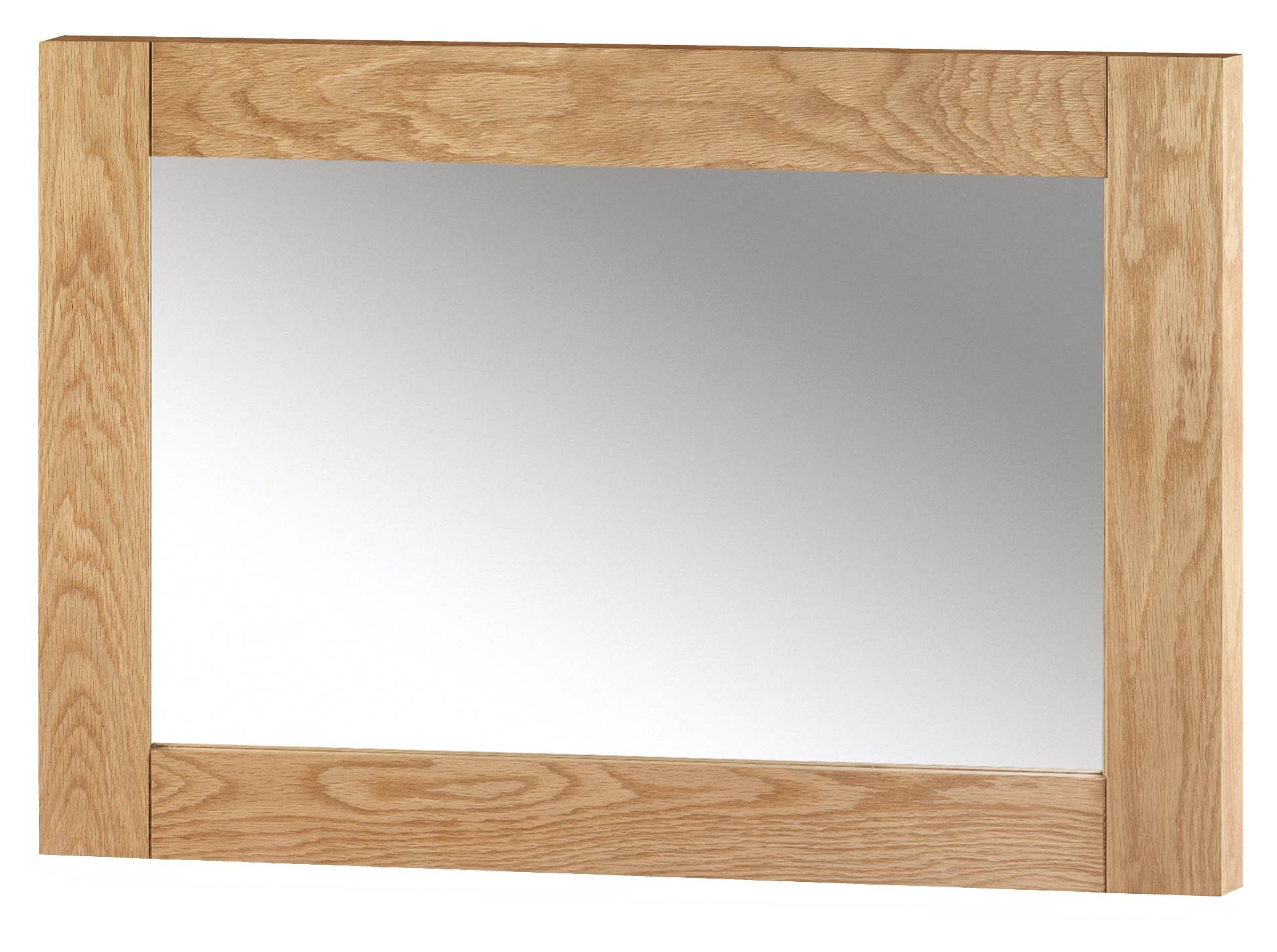 2020 Julian Bowen Marlborough Oak Wall Mirror Within Oak Wall Mirrors (View 1 of 20)