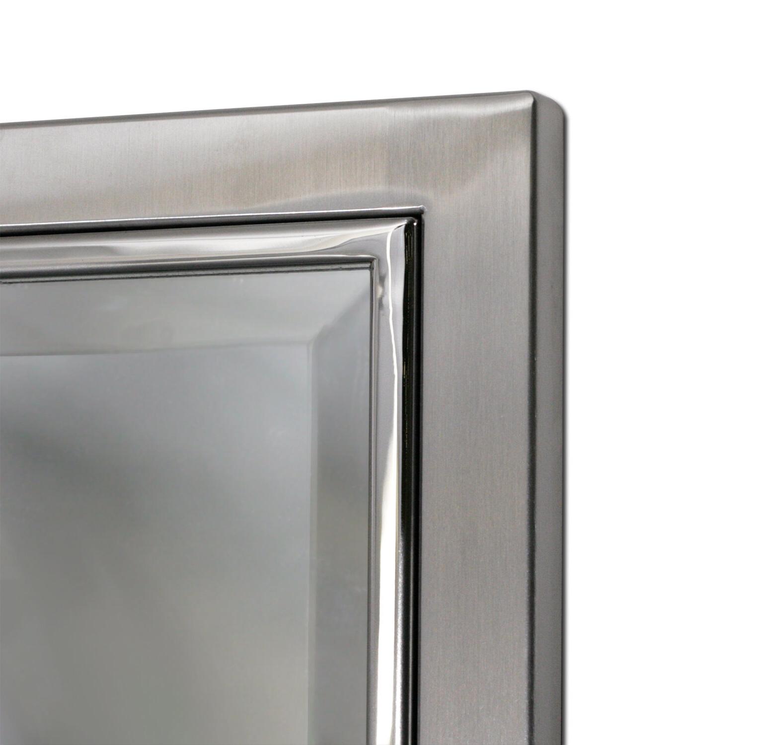 2020 Kennith Classic Metal Framed Bathroom/vanity Wall Mirror Pertaining To Metal Framed Wall Mirrors (View 2 of 20)