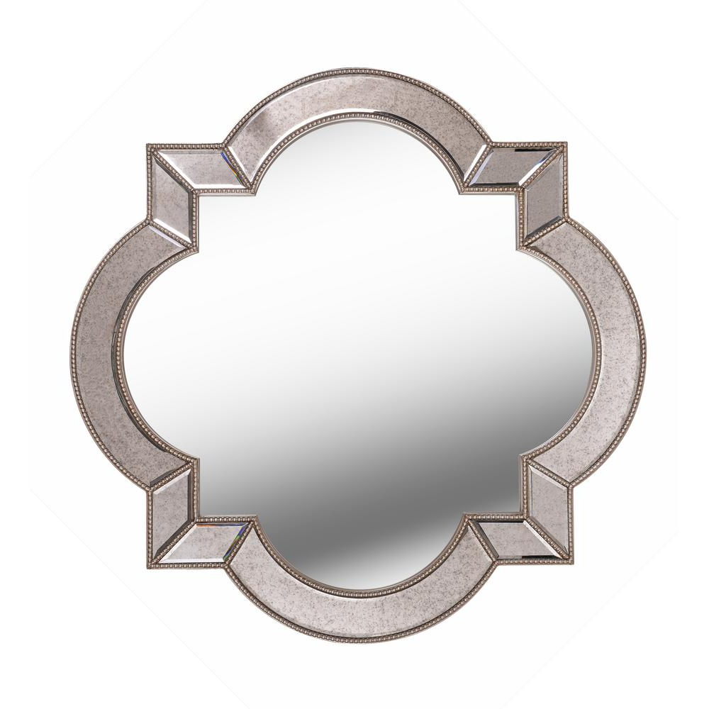 2020 Kenroy Home Christine Irregular Champagne Wall Mirror 60425 – The Regarding Luna Accent Mirrors (View 14 of 20)