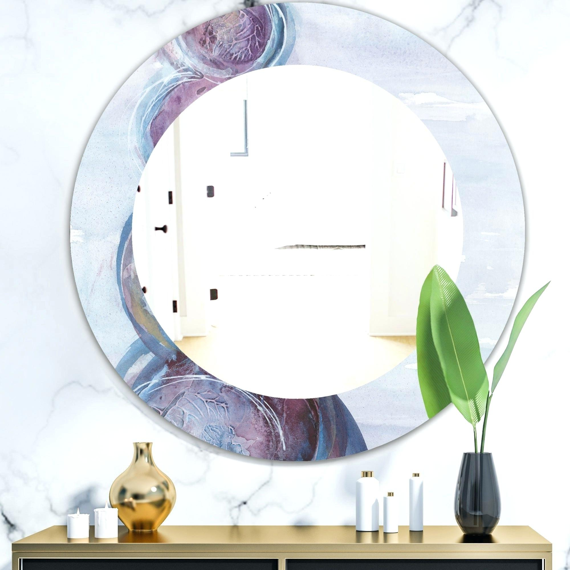 2020 Kids Wall Mirrors Within Purple Wall Mirror – Upexcise (View 16 of 20)