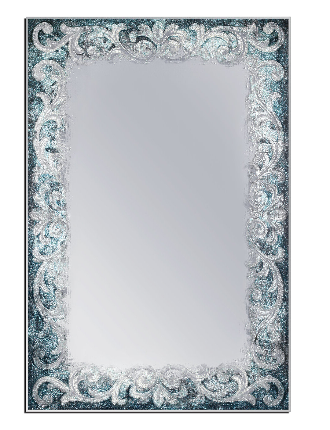 2020 Koppel Tapestry Coastal Venetian Wall Mirror With Regard To Coastal Style Wall Mirrors (View 8 of 20)