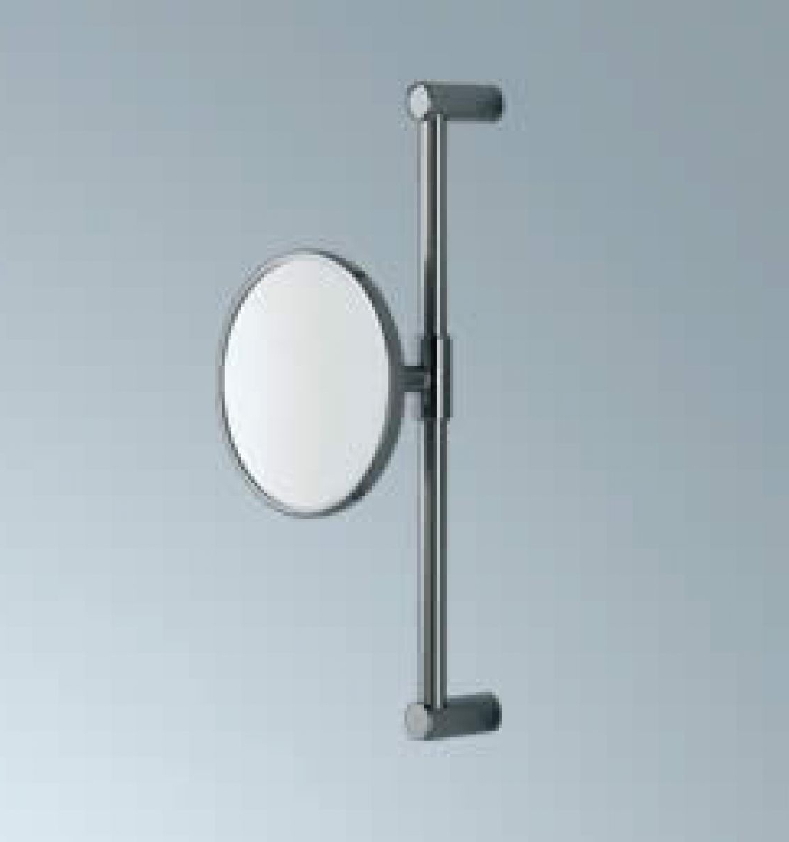 2020 Magnifying Wall Mirrors For Bathroom Regarding Inda Wall Mounted Magnifying Mirror (Gallery 1 of 20)