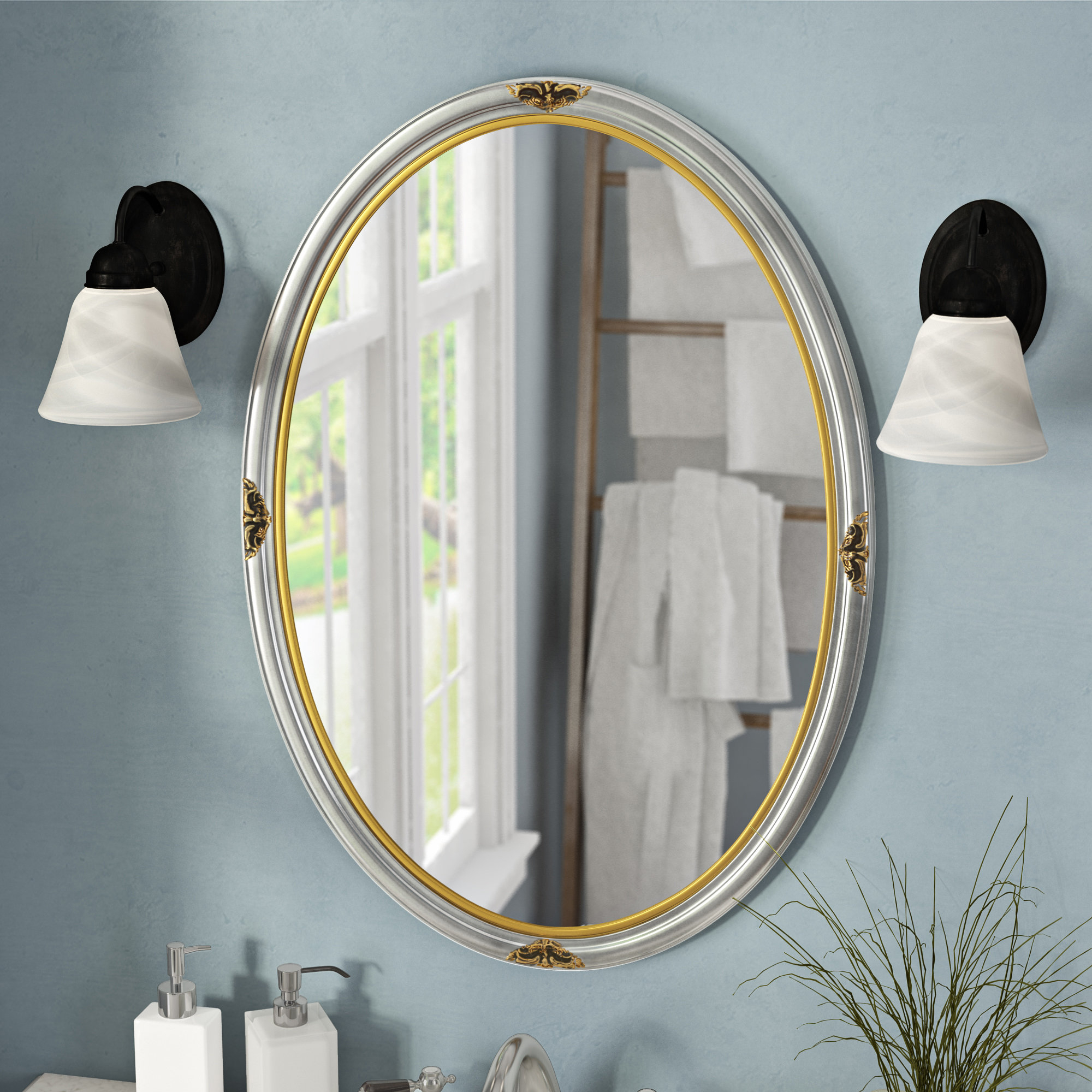 2020 Matthias Round Accent Mirrors For Traditional Accent Mirror (View 18 of 20)