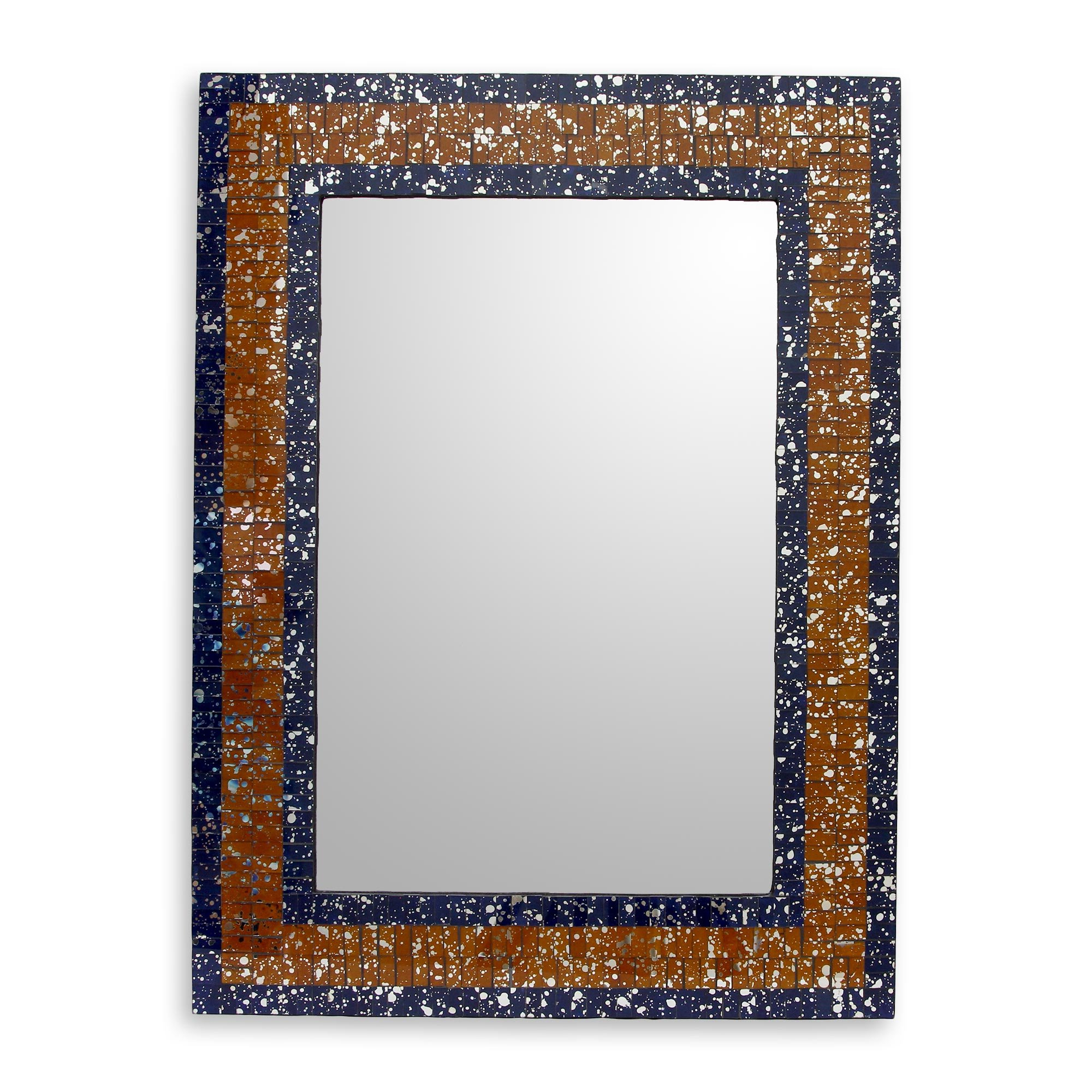 2020 Mosaic Framed Wall Mirrors For Glass Mosaic Mirror (View 2 of 20)