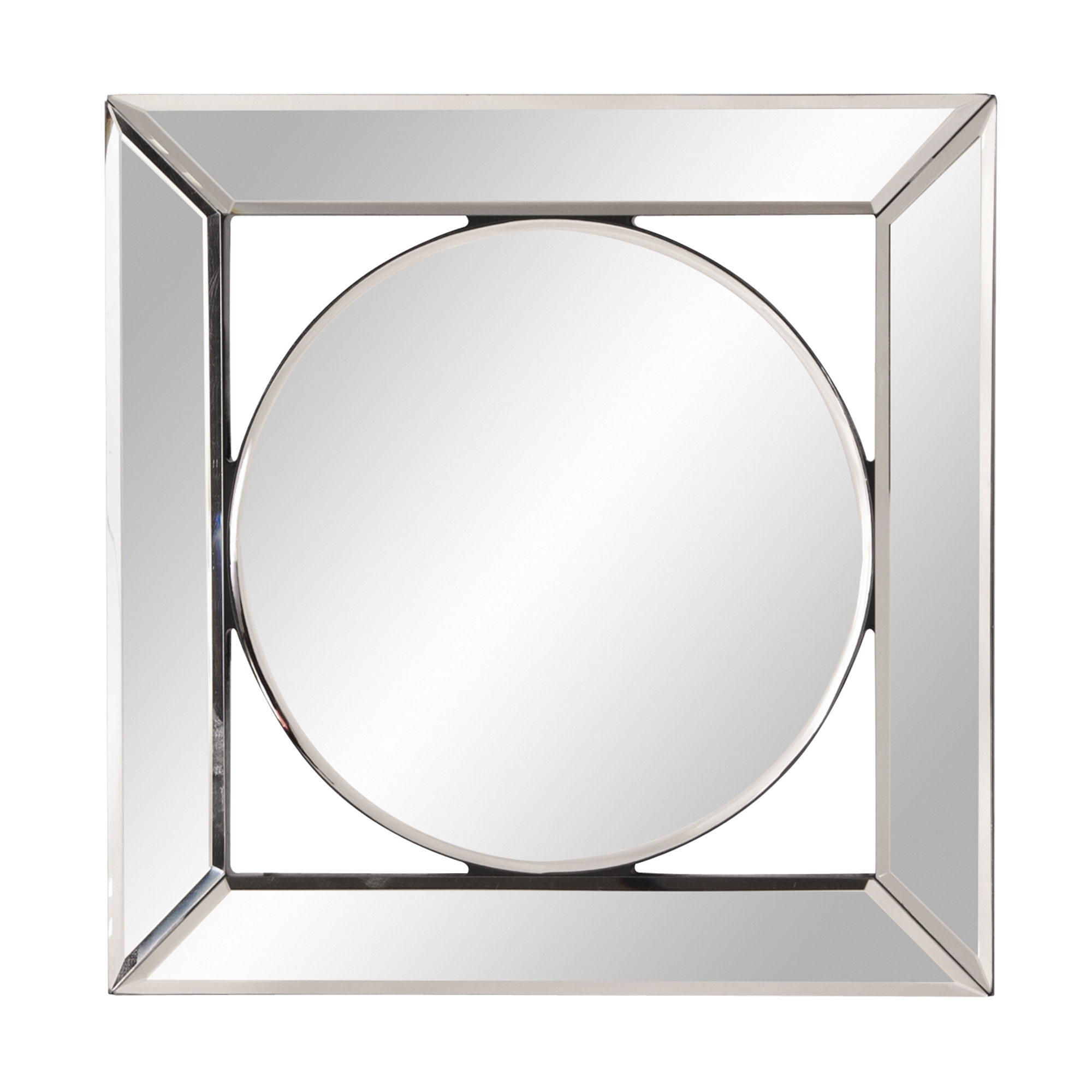2020 Newtown Accent Mirrors Regarding Square Hanging Accent Mirror (View 3 of 20)