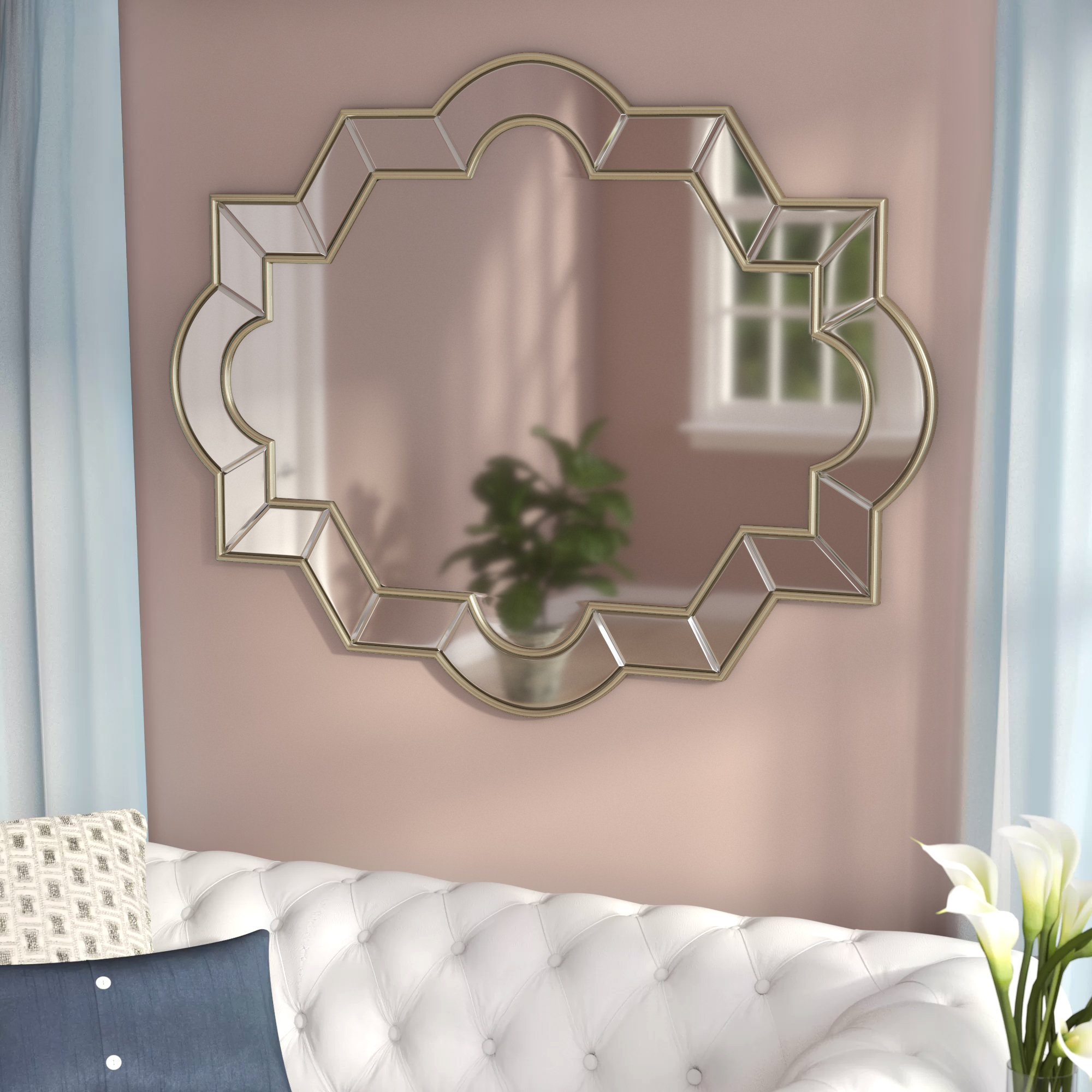 2020 Rodger Wall Mirror Pertaining To Wall Mirrors Designs (View 20 of 20)