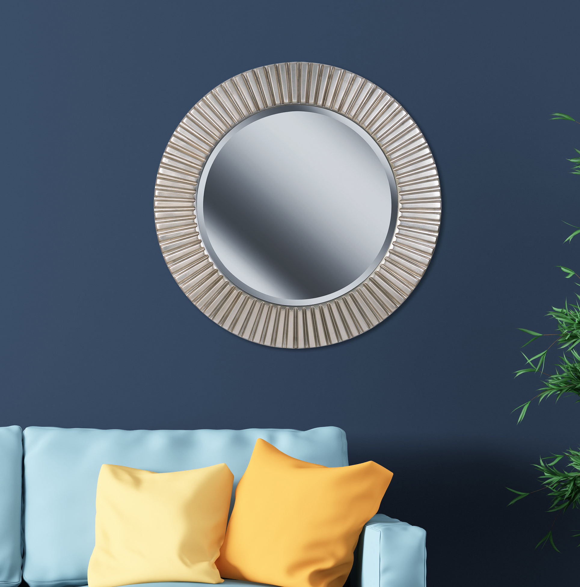 2020 Round Eclectic Accent Mirrors With Round Eclectic Accent Mirror (View 4 of 20)