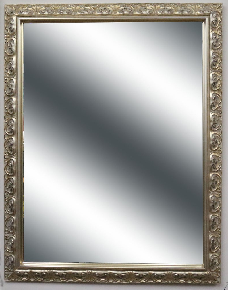 Featured Photo of Silver Framed Wall Mirrors