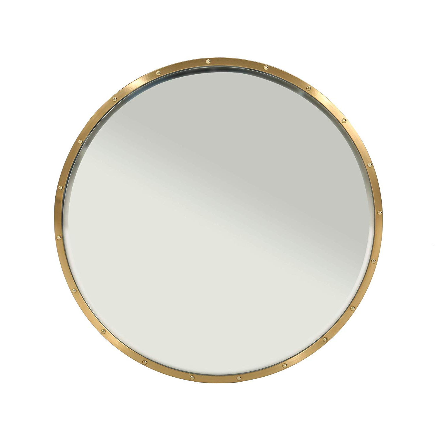 2020 Stainless Steel Wall Mirrors With Amazon: Great Deal Furniture Malina Glam Circular Wall (View 18 of 20)