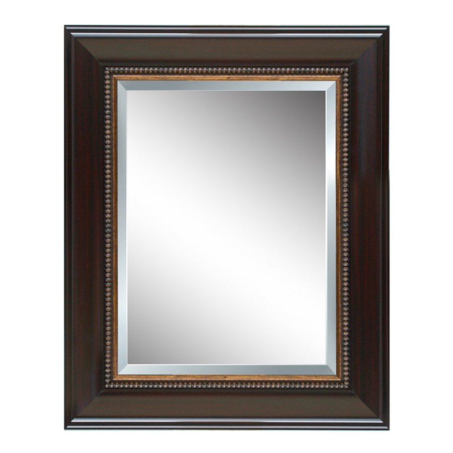 2020 Style Selections 44 In L X 32 In W Cherry Beveled Wall Mirror At With Regard To Cherry Wall Mirrors (View 6 of 20)