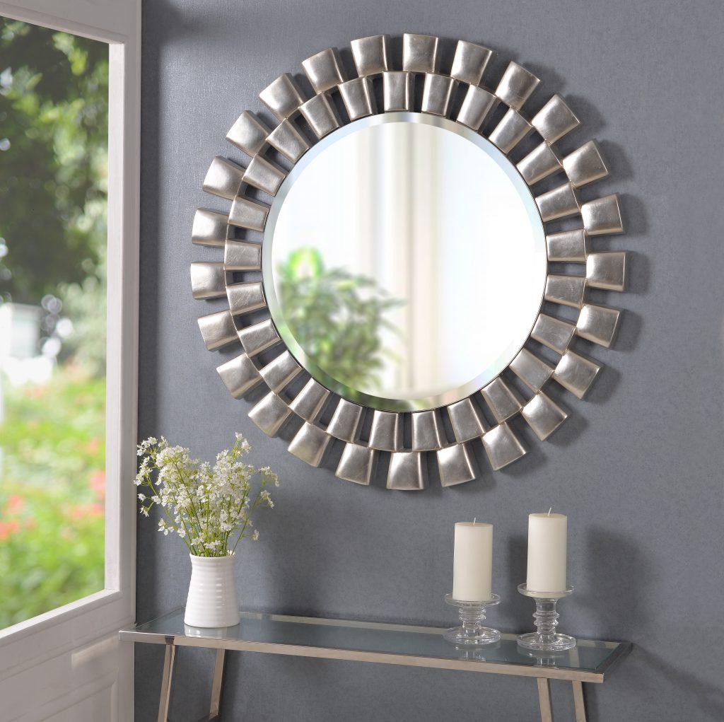 21 Cool Sunburst Mirror Interior Design – Nubika Regarding 2020 Brylee Traditional Sunburst Mirrors (View 11 of 20)