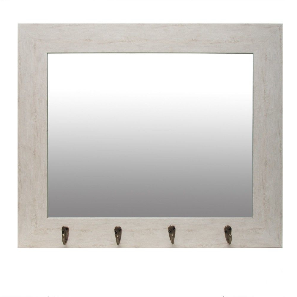 Featured Photo of White Wall Mirrors With Hooks