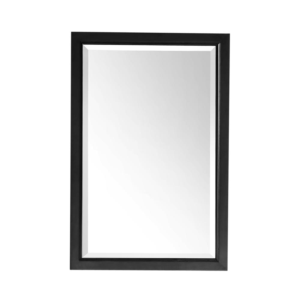 24 X 36 Wall Mirrors For Popular 24 In. X 36 In. Framed Wall Mirror In Espresso (Gallery 11 of 20)