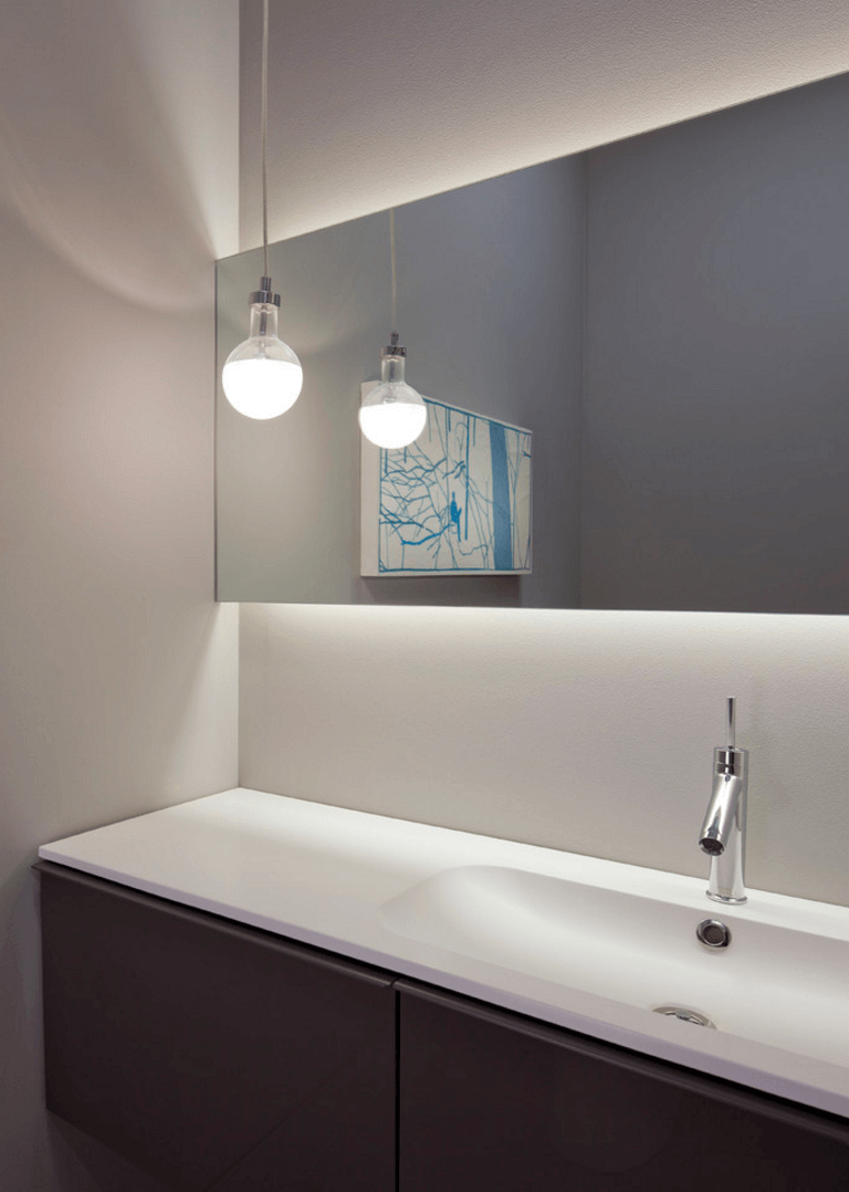 Featured Photo of Contemporary Bathroom Wall Mirrors